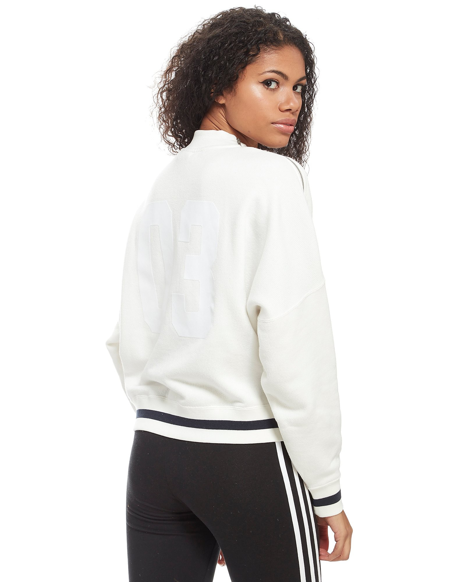 adidas Originals Rib High Neck Crew Top