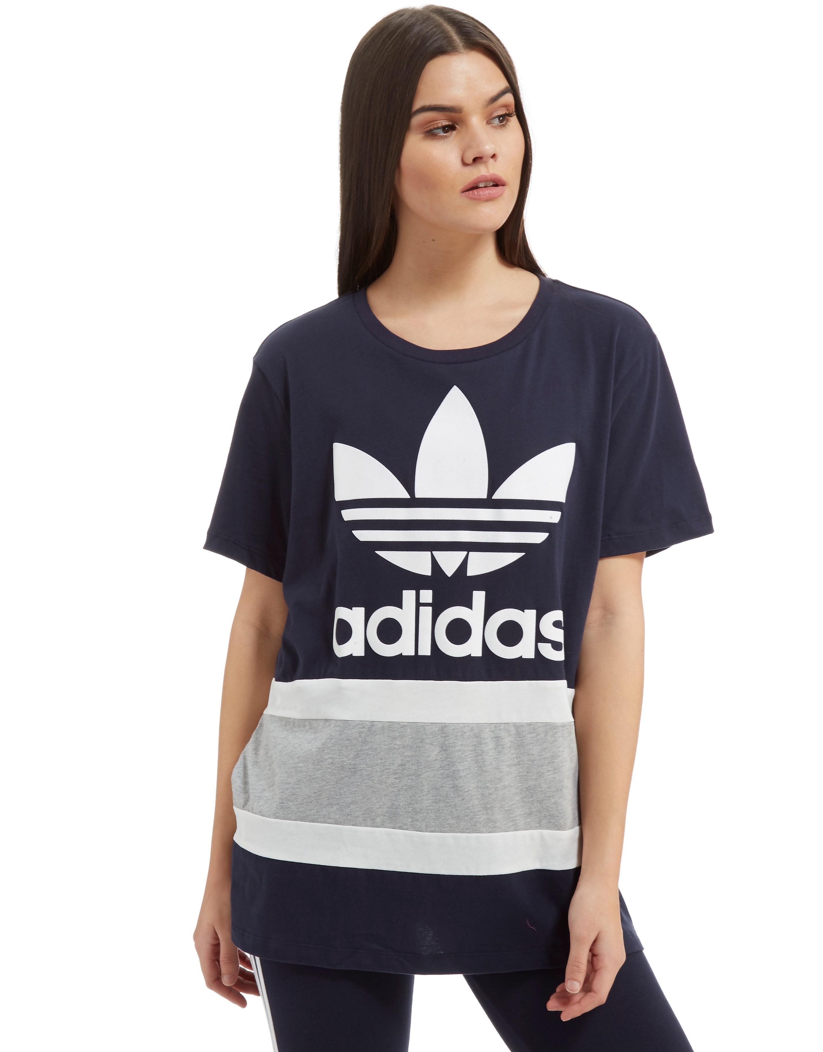 adidas Originals Paneel Trefoil T-Shirt