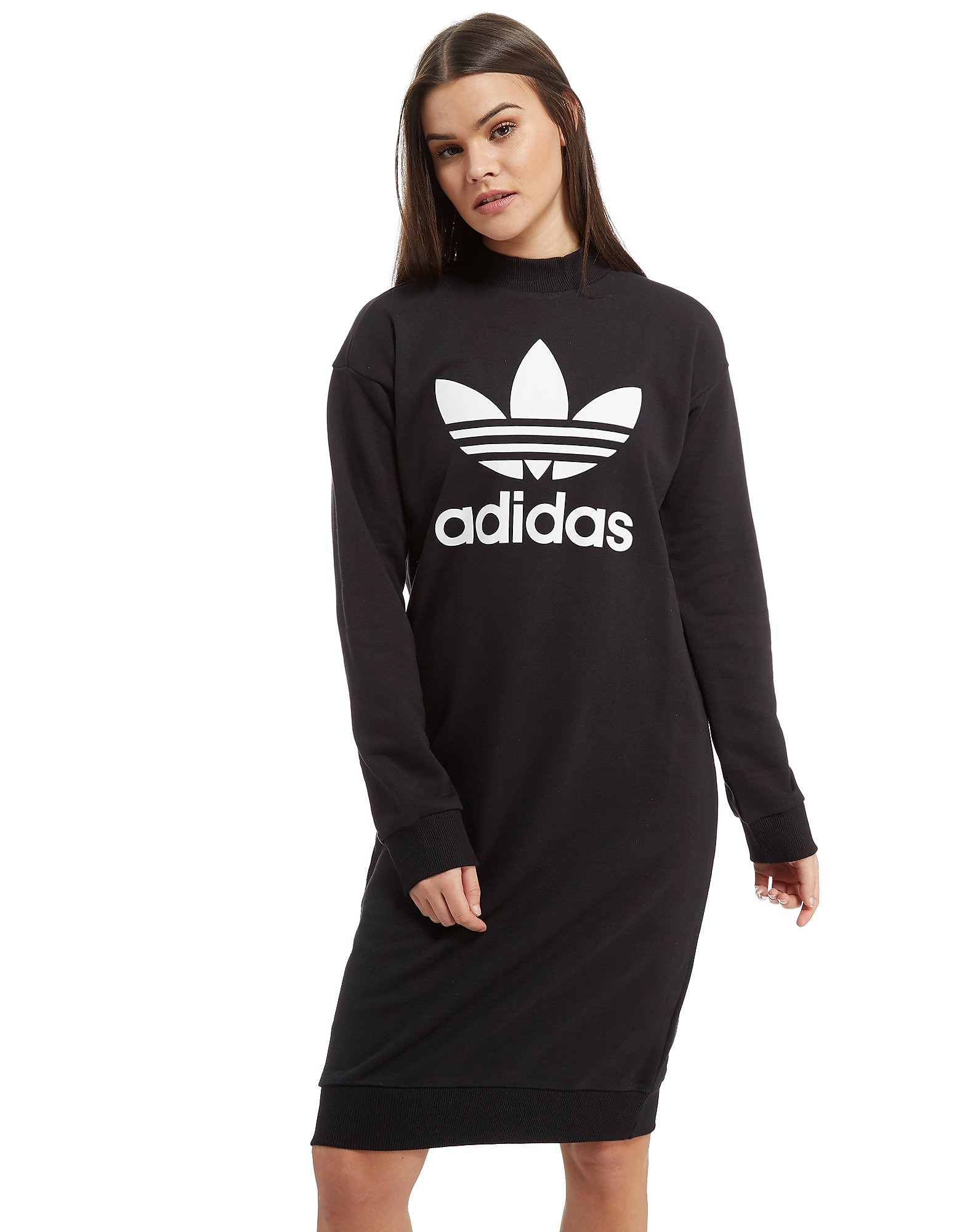 adidas Originals High Neck Trefoil Dress