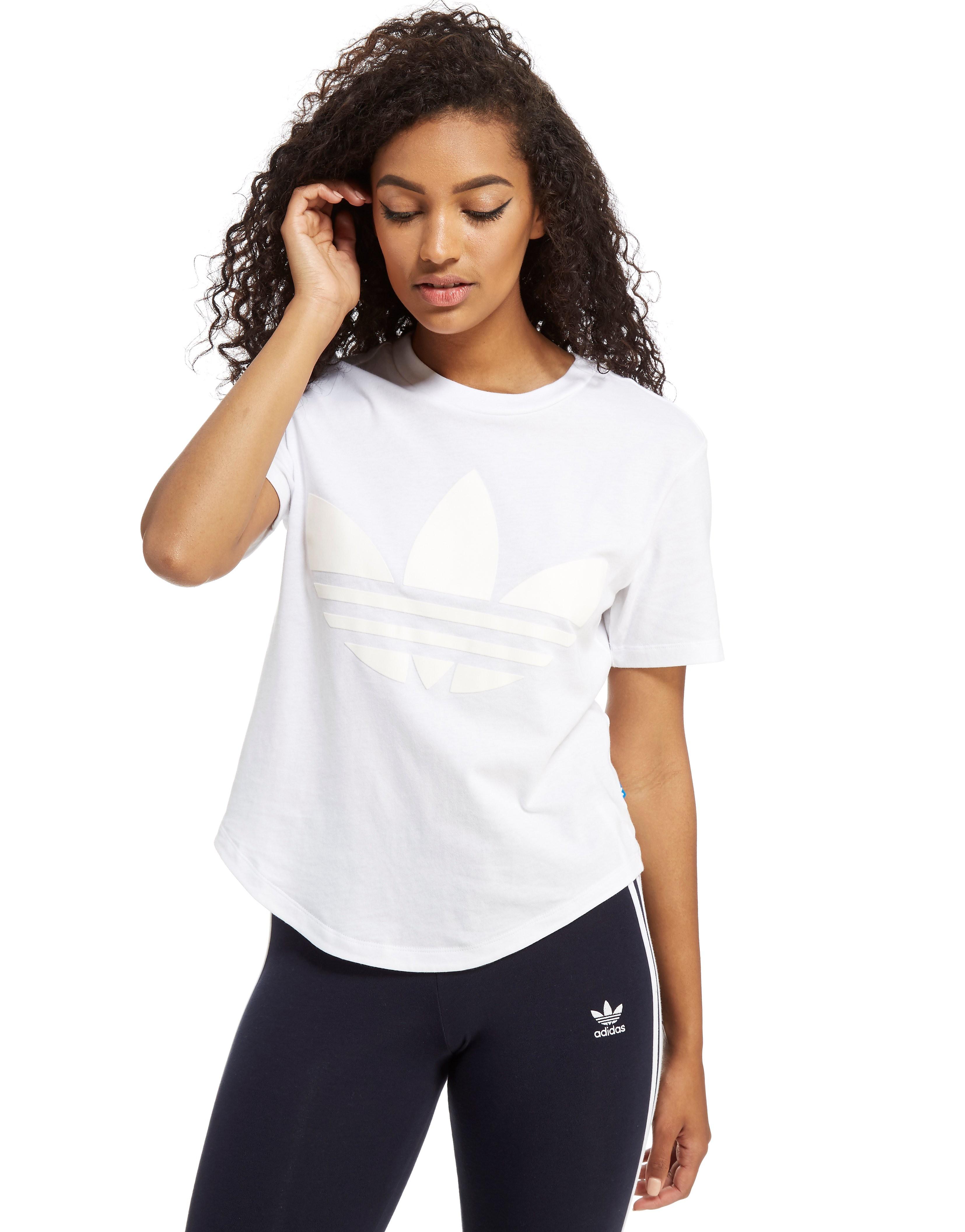 adidas Originals Flock T-Shirt - White, White