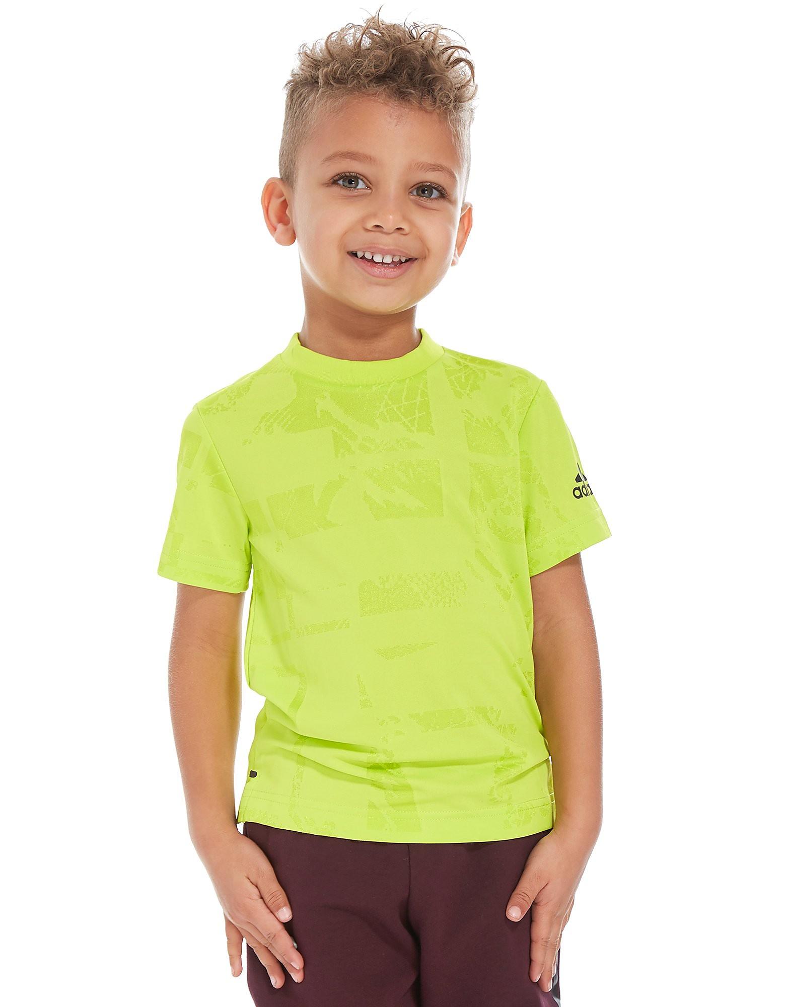 adidas camiseta de entrenamiento Sprint infantil