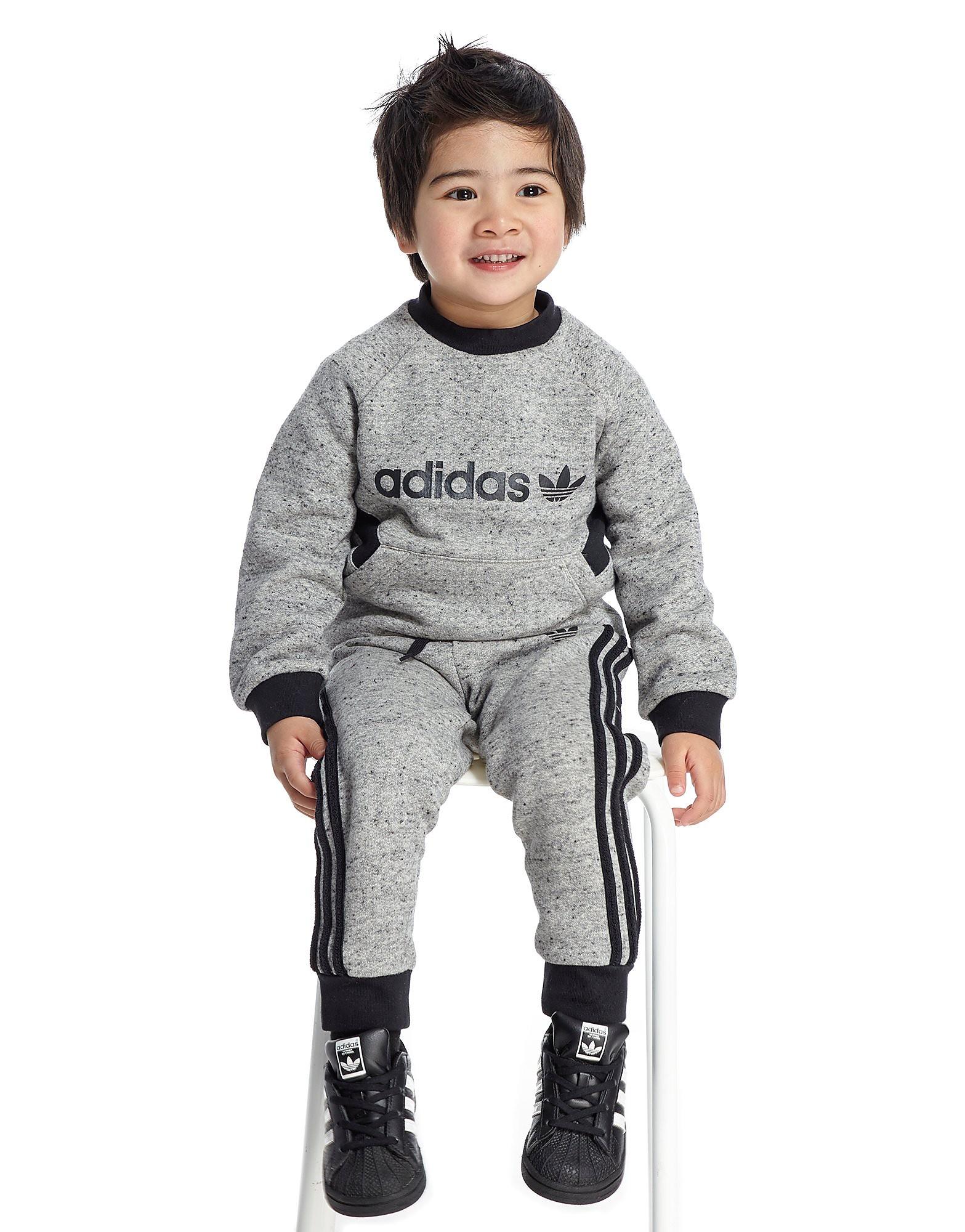 adidas Originals conjunto Trefoil Crew para bebé