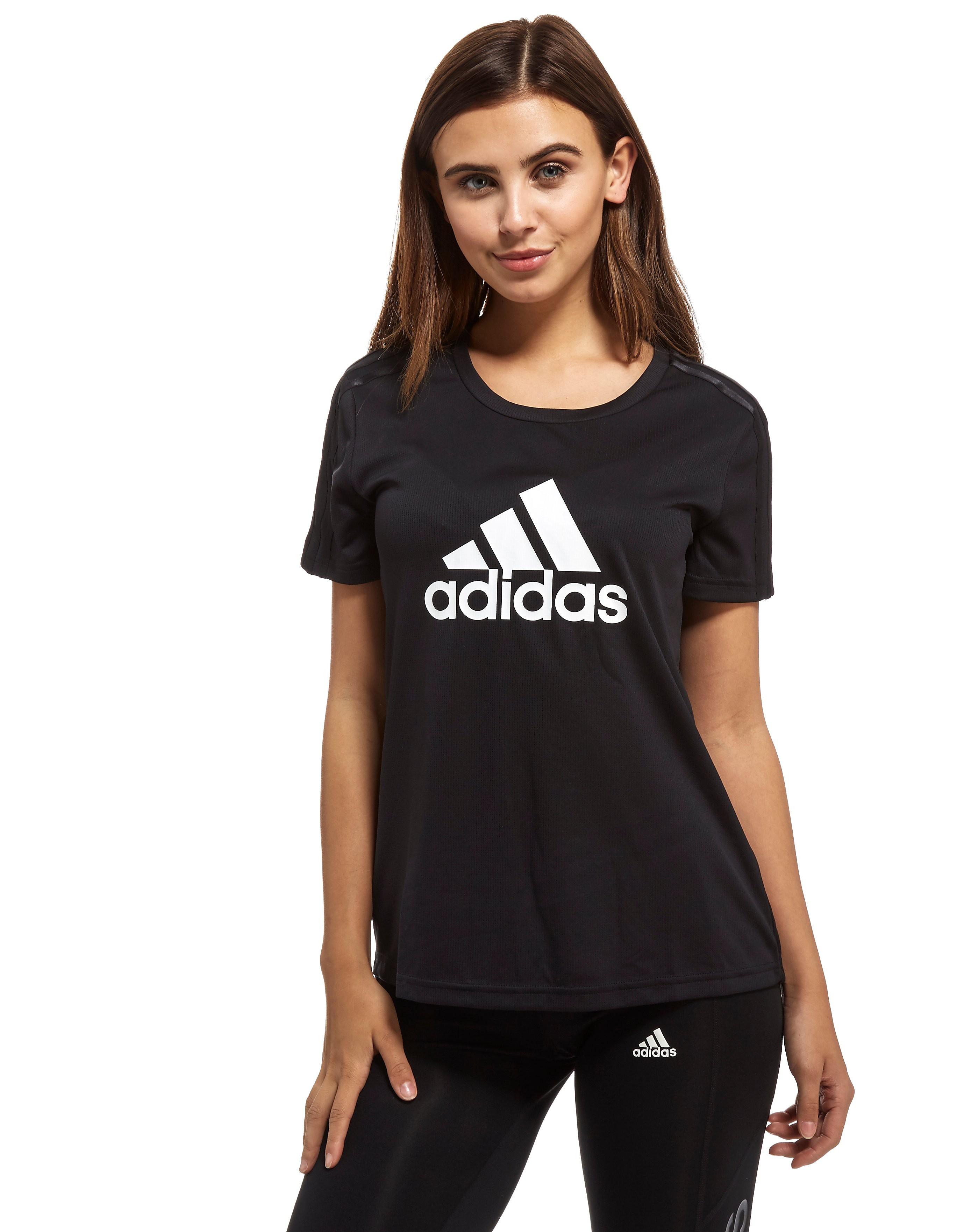 adidas Mesh Logo T-Shirt