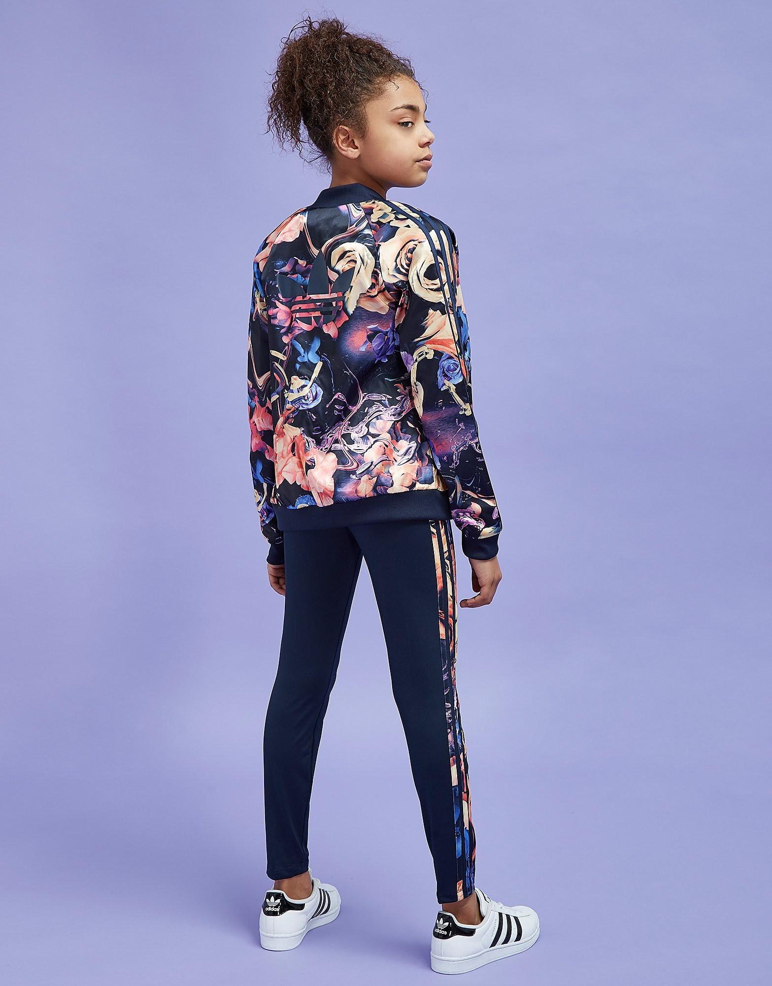 adidas Originals Girls' Floral Track Top Junior