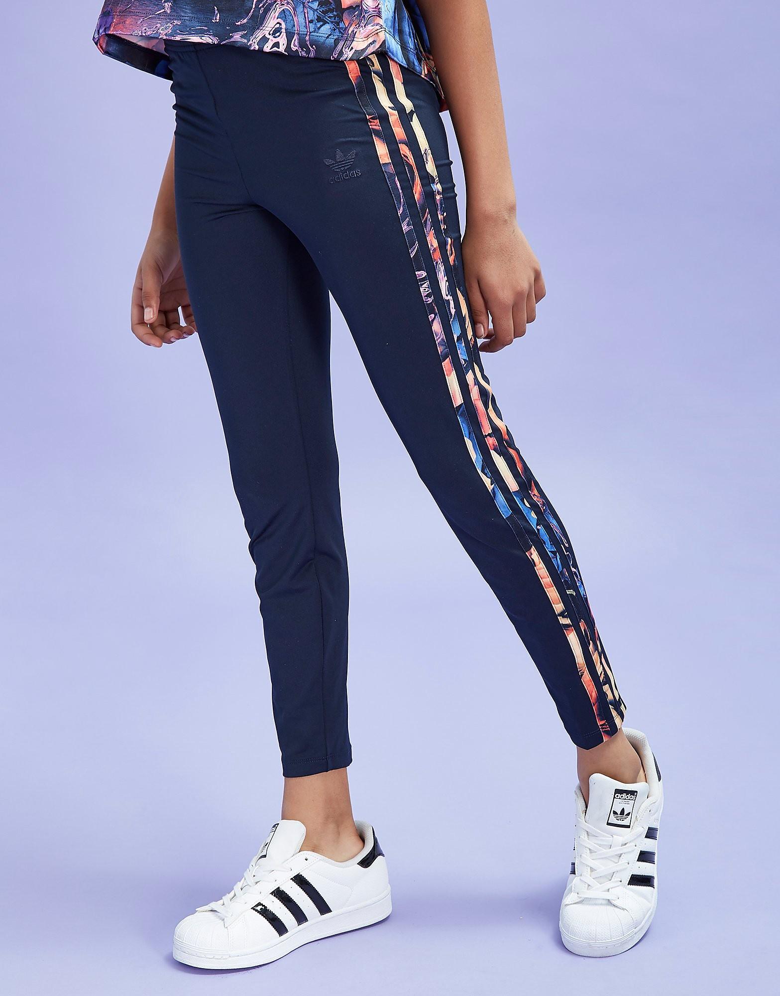 adidas Originals Girls' Flower Leggings Junior