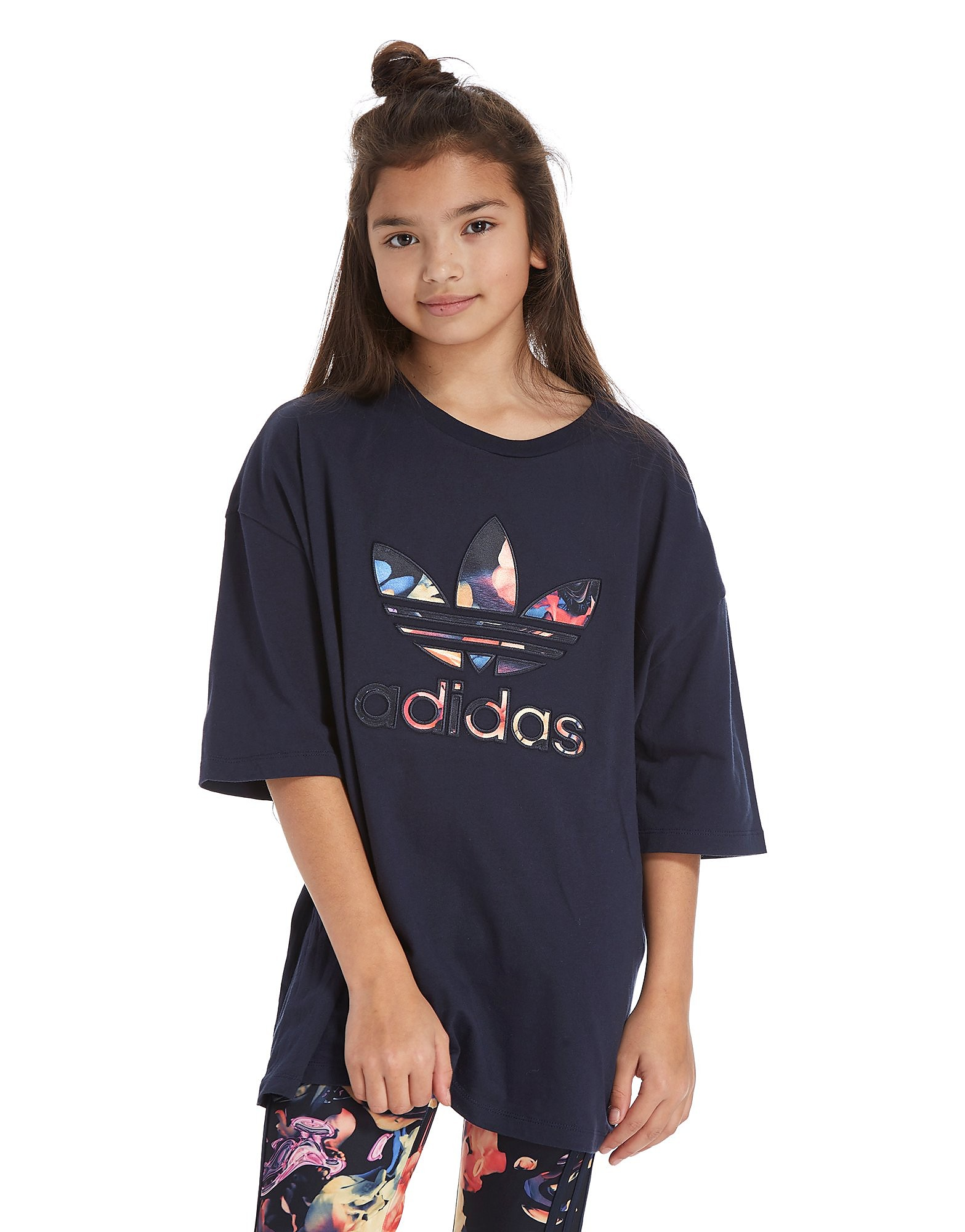 adidas Originals Girls' Oversized Infil T-Shirt Junior