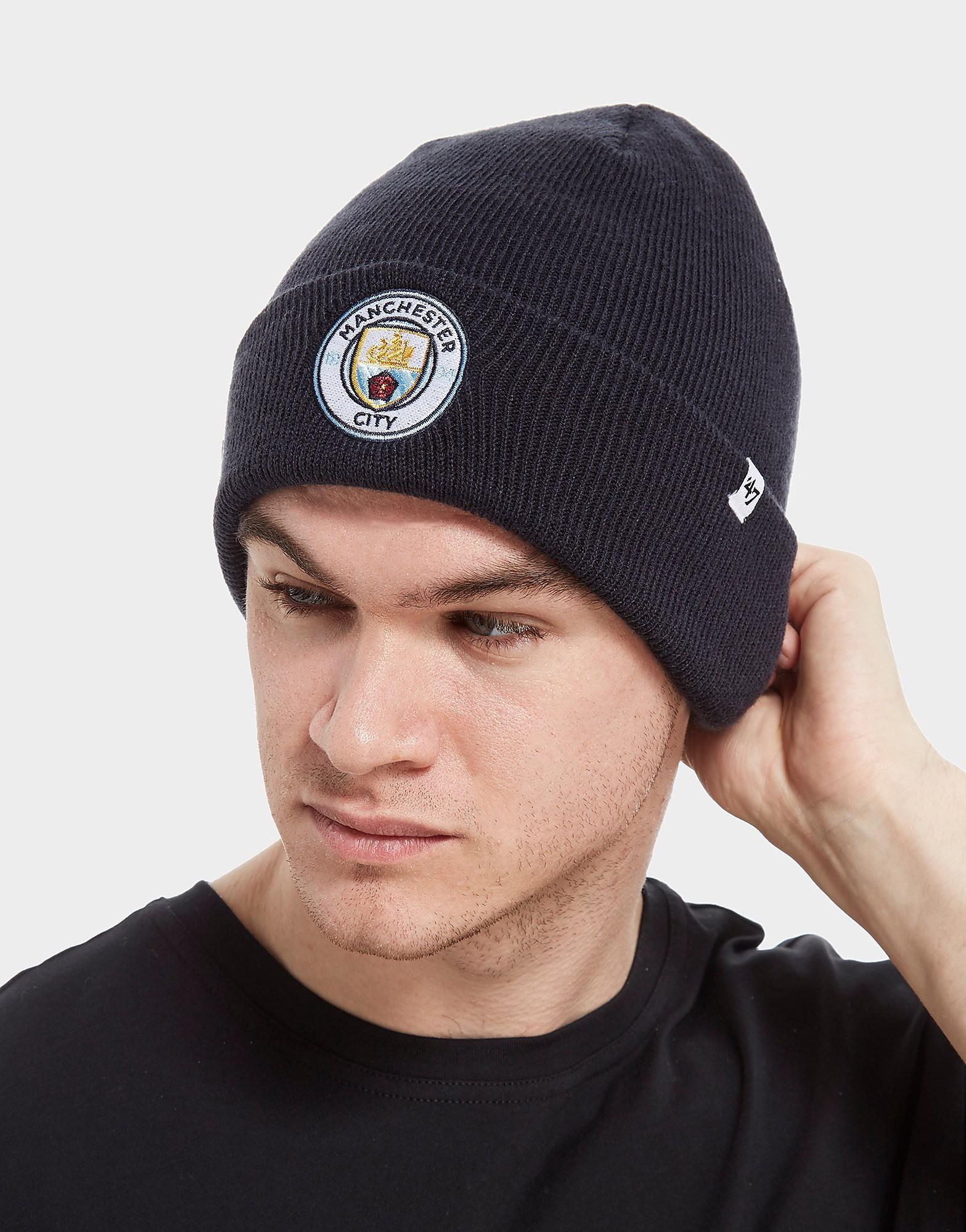 47 Brand Manchester City FC Cuffed Beanie Hat