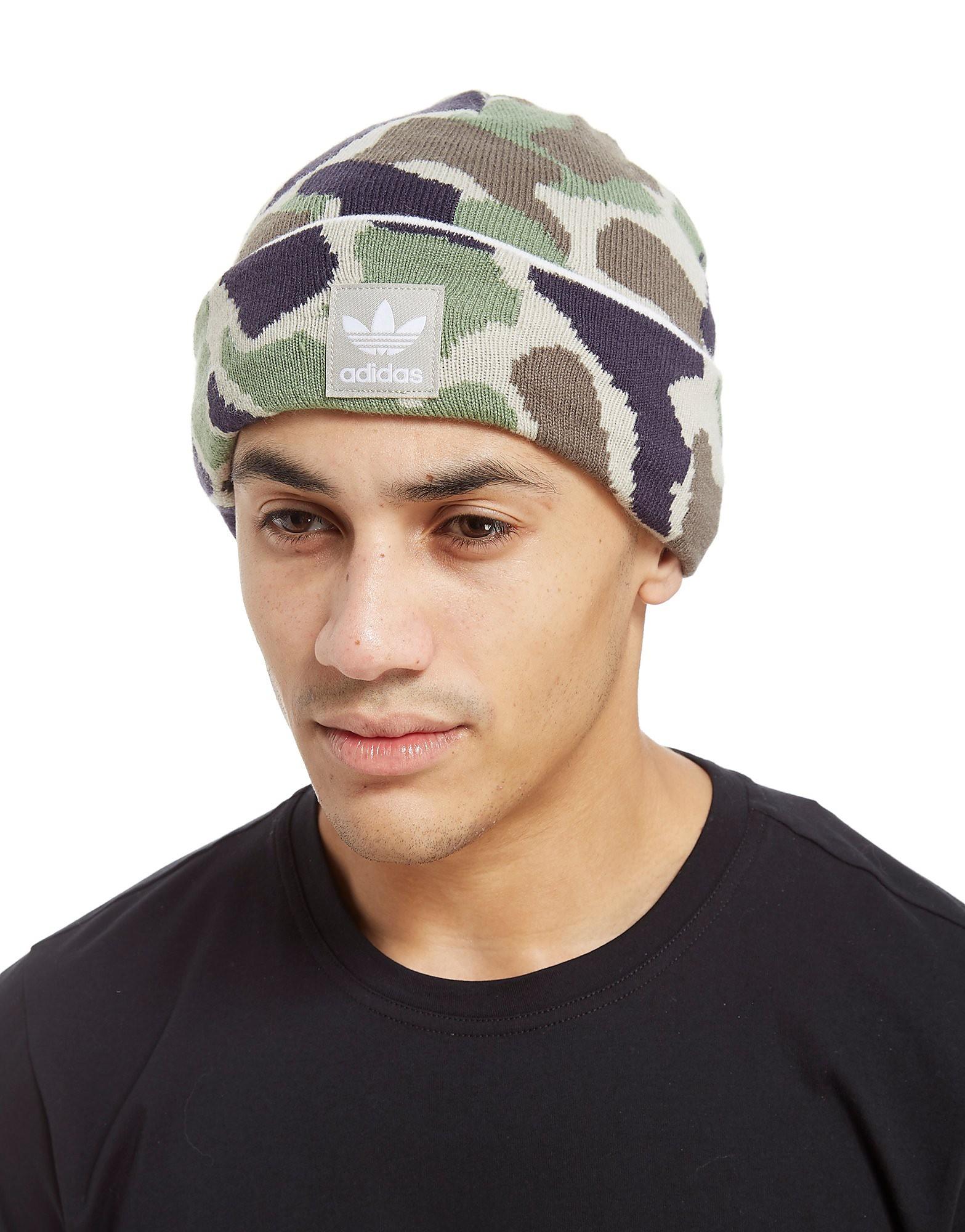 adidas Originals Camo Beanie Hat