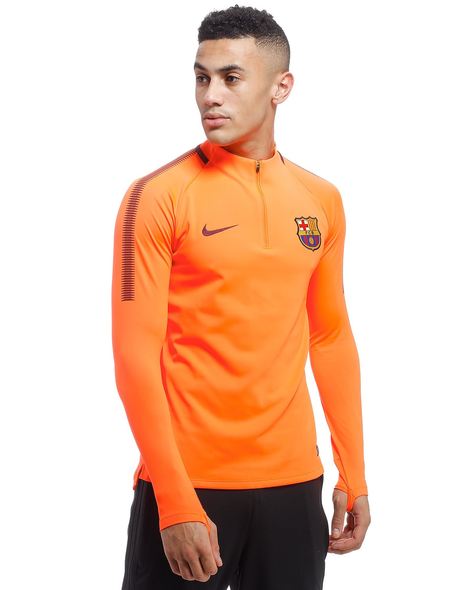 Nike FC Barcelona Dry Squad Drill Top Heren