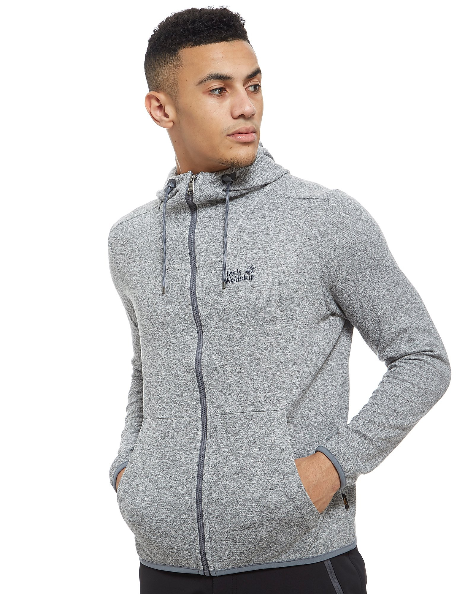 Jack Wolfskin Finley Zip Through Sweatshirt