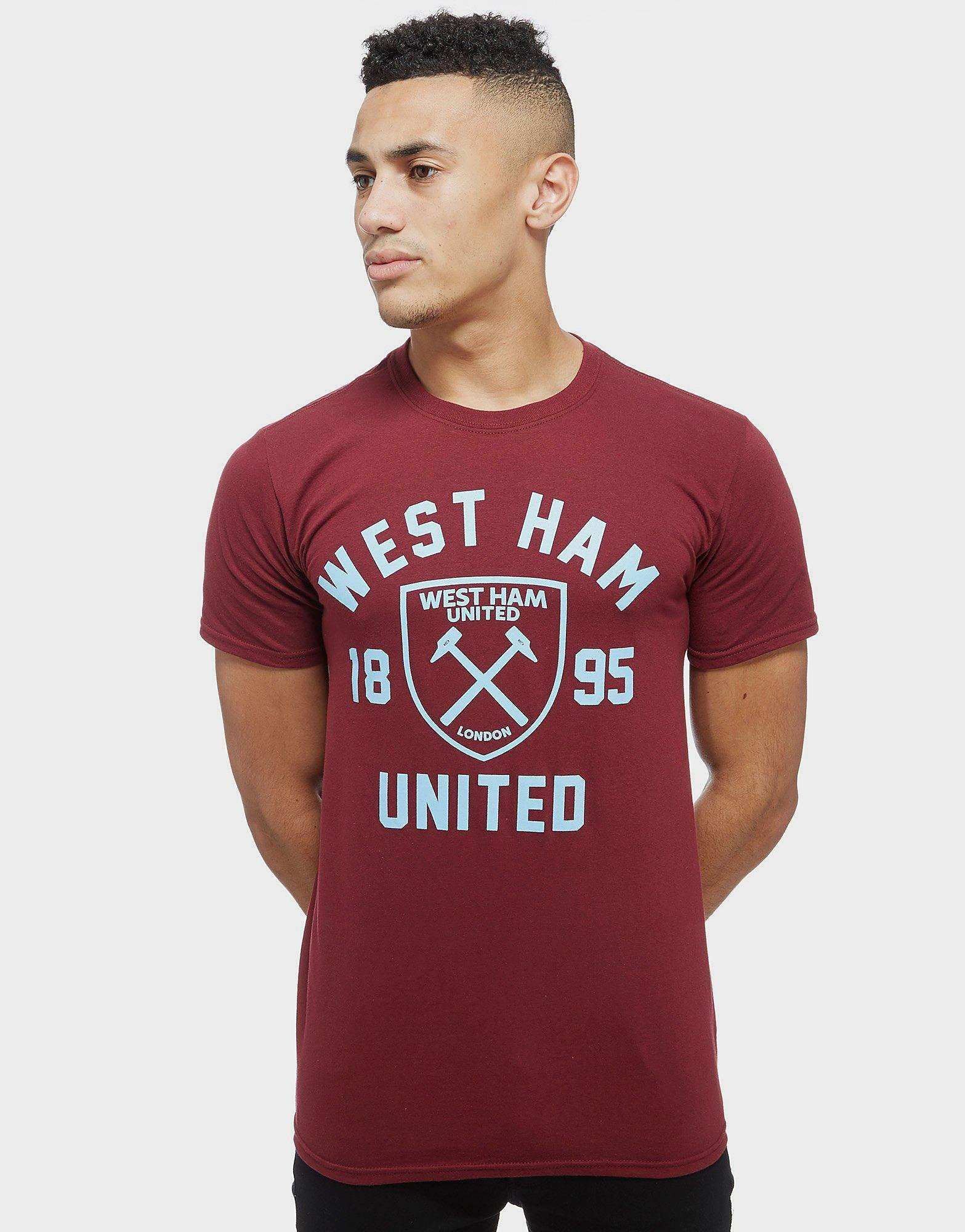 Official Team West Ham United Club Crest T-Shirt