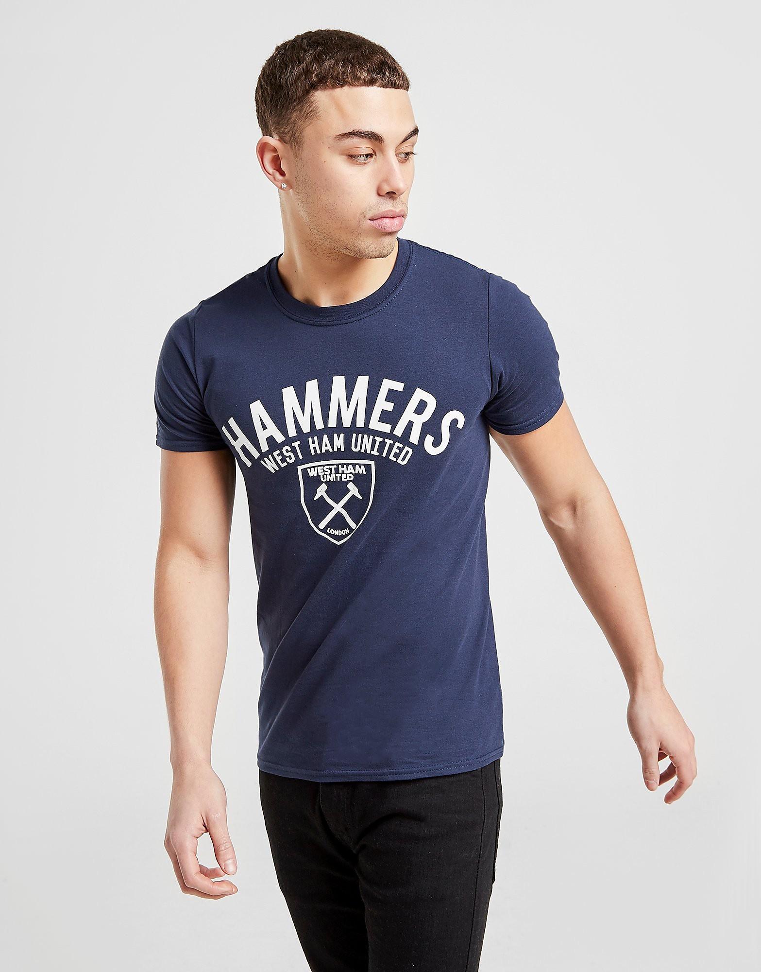 SOURCE LAB LTD West Ham United Hammers T-Shirt