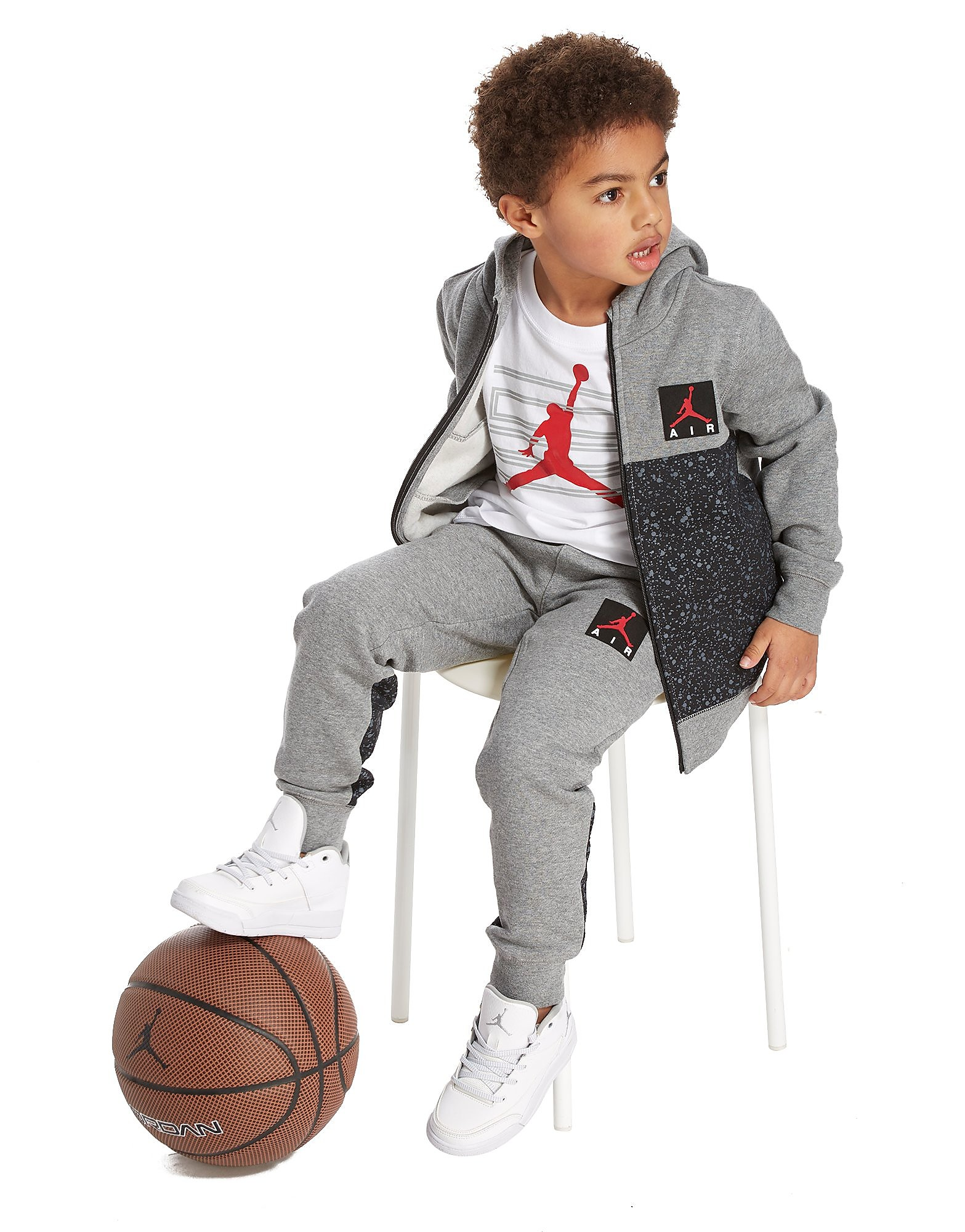 Jordan Cement Full Zip Tracksuit Children