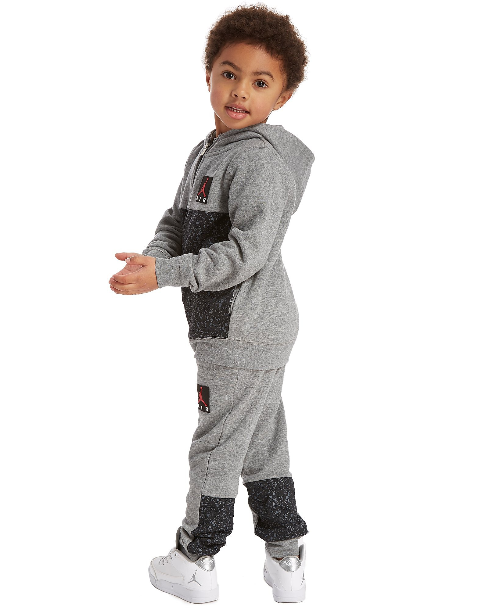 Jordan Cement Full Zip Tracksuit Children