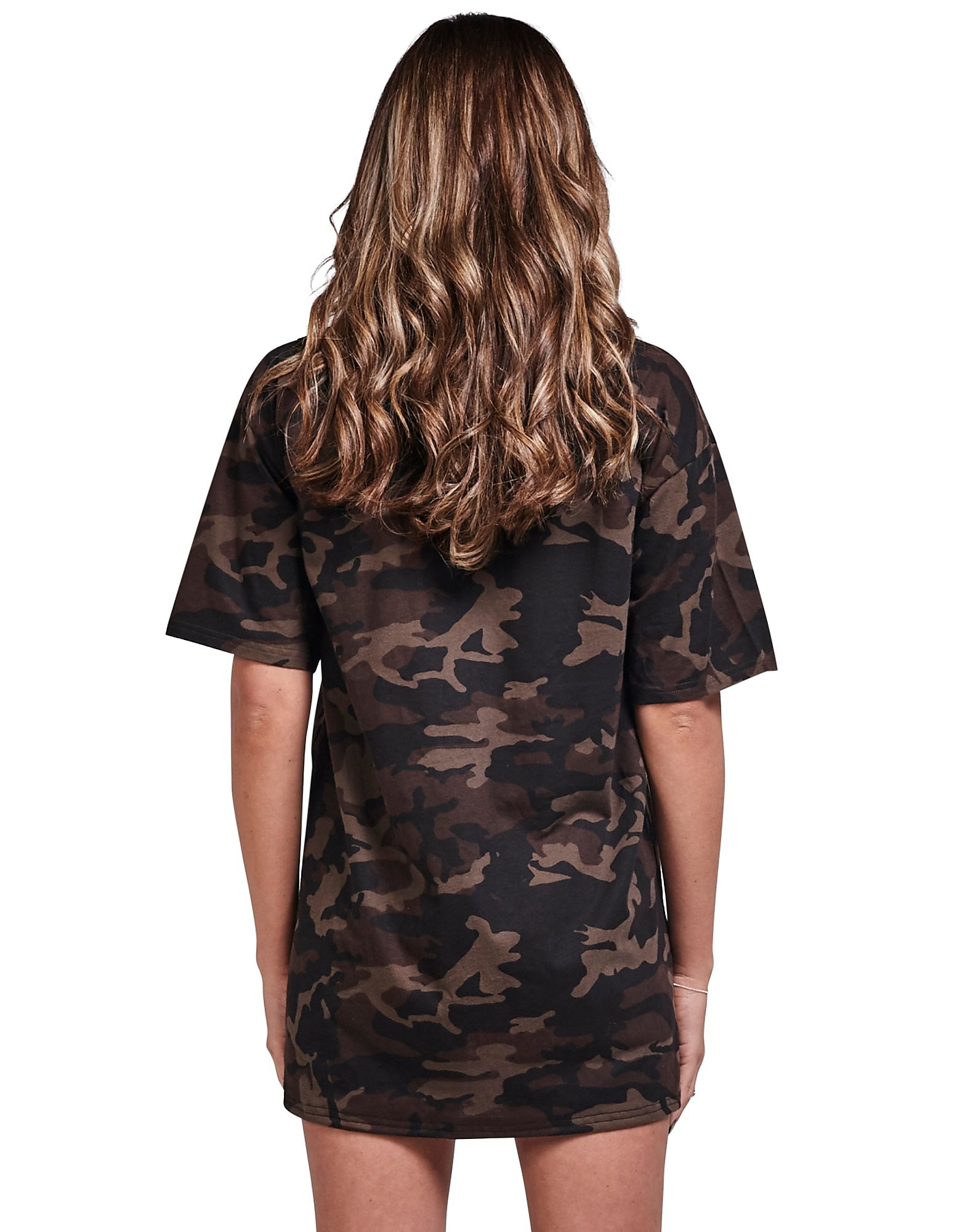 SikSilk Camo T-Shirt Dress