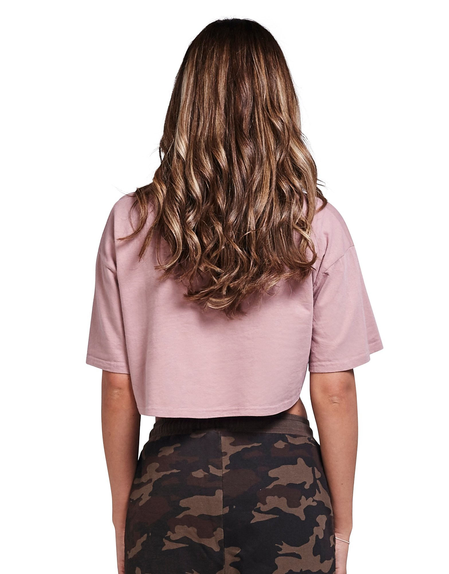 SikSilk Crop Logo T-Shirt