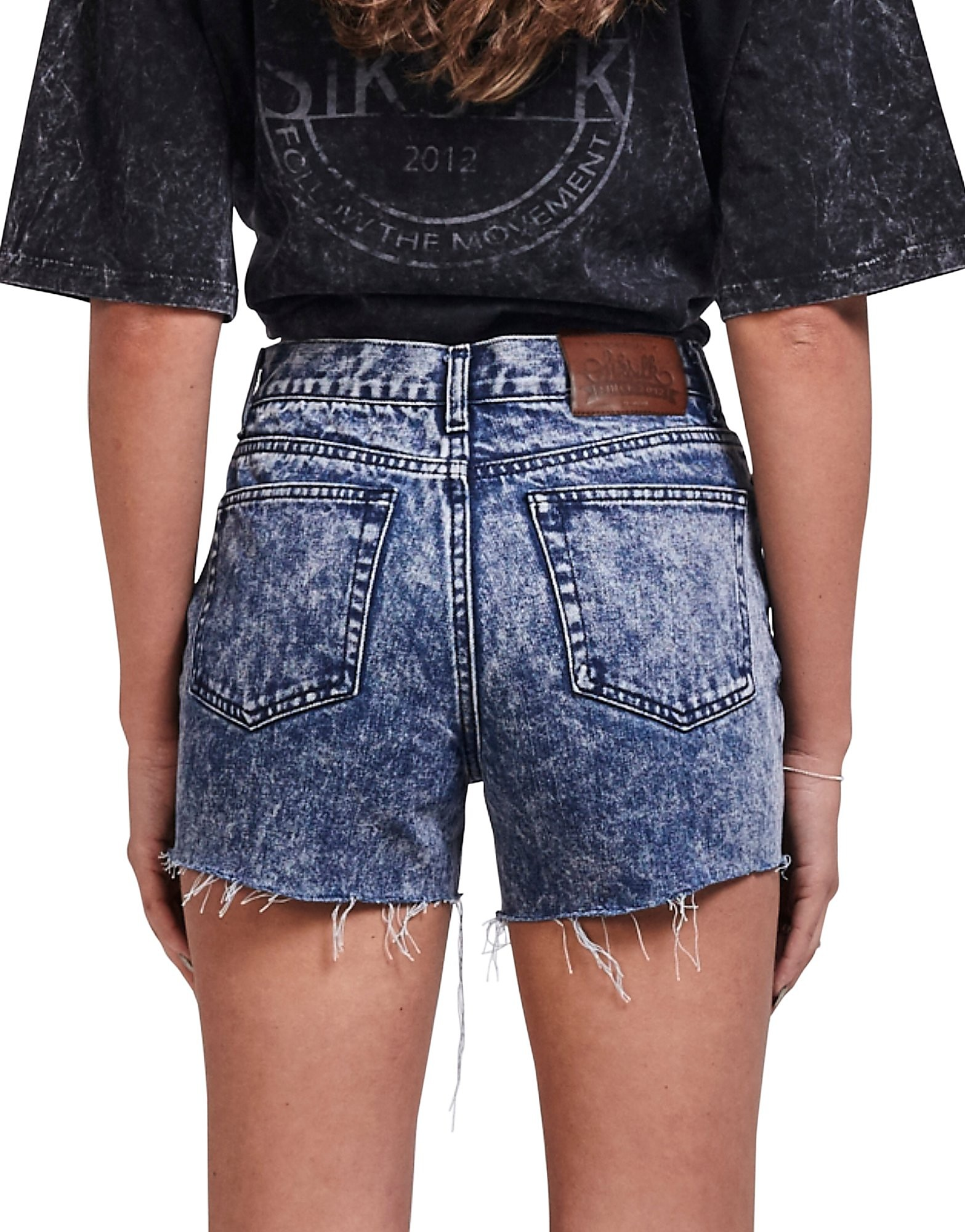SikSilk Festival Denim Shorts