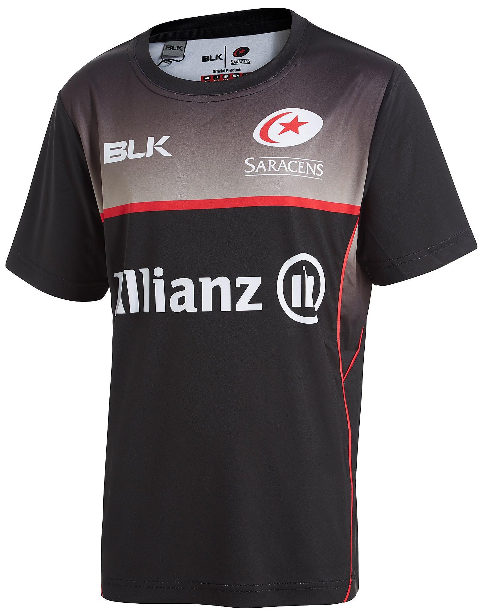 BLK Sport Saracens Training T-Shirt Junior