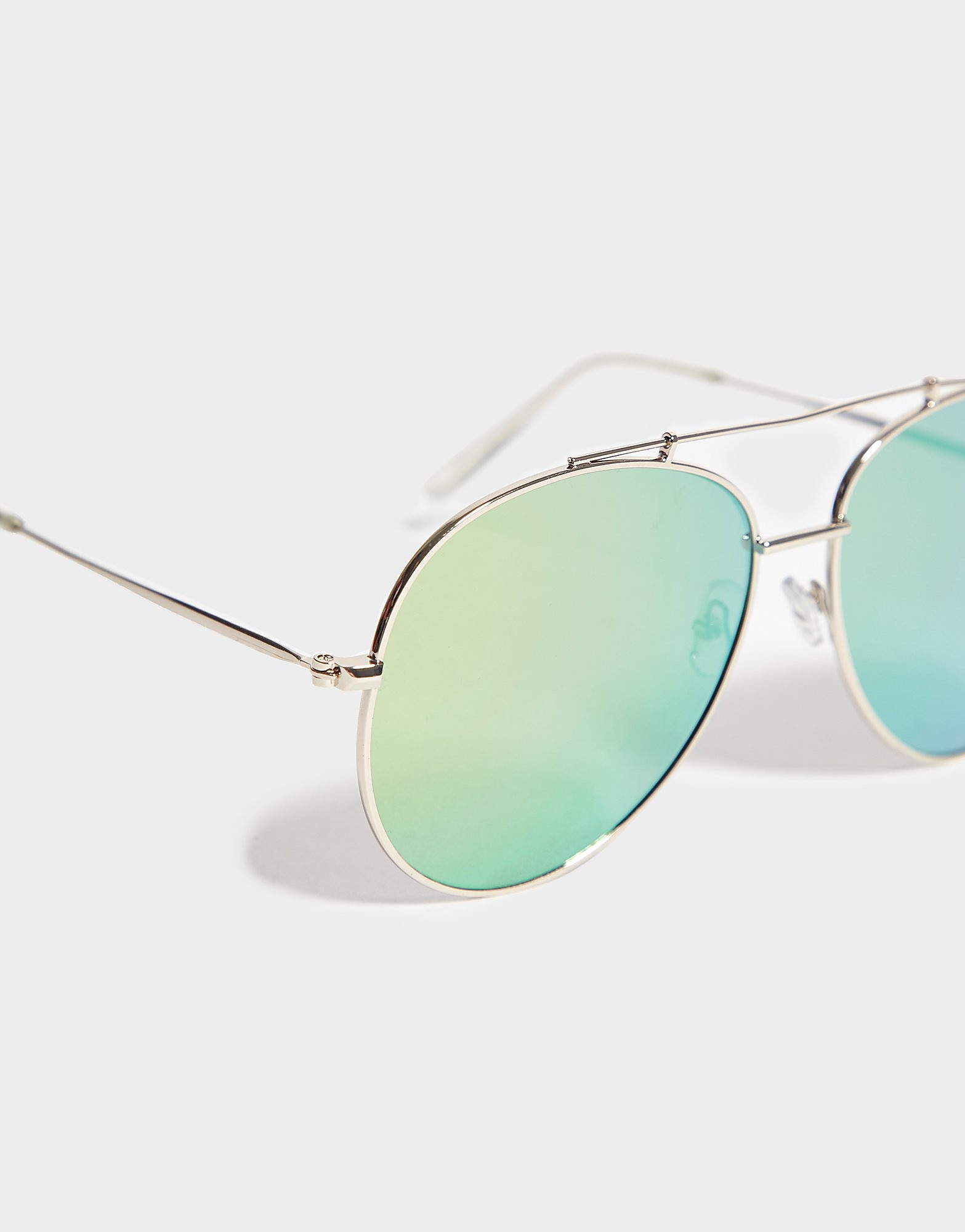 Brookhaven Ashley Gold Aviator Sunglasses