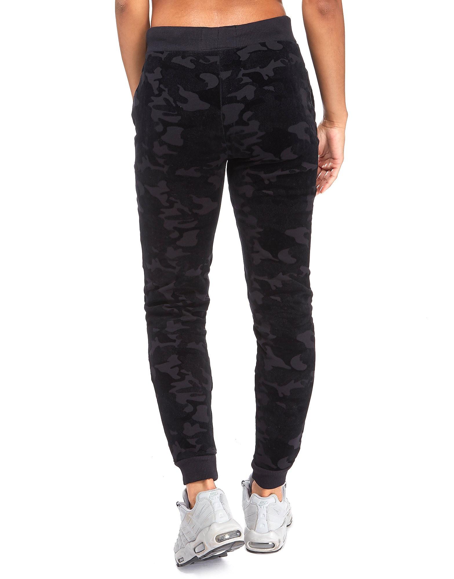 Supply & Demand Velour Camo Pantaloni Donna