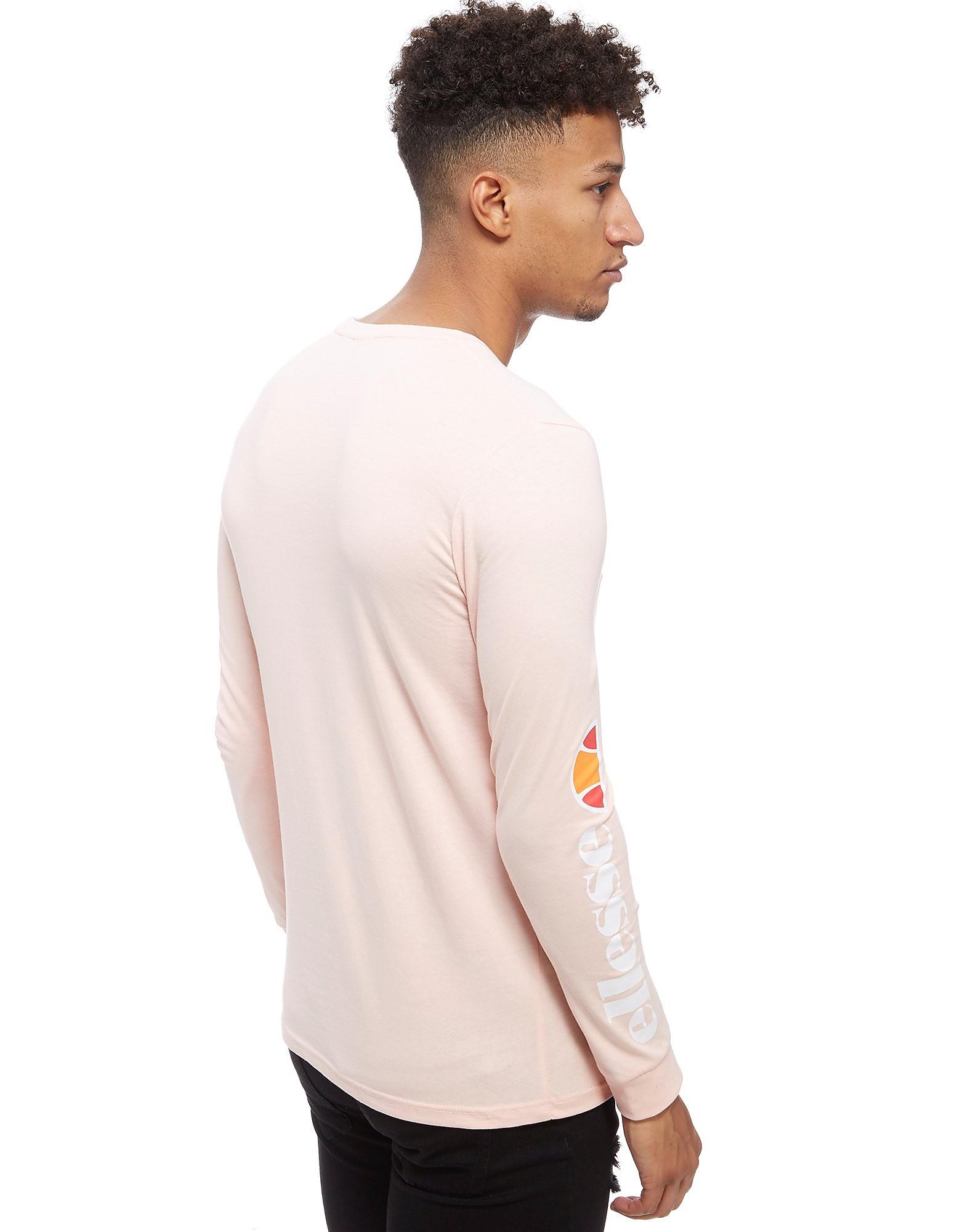Ellesse Thiero Long Sleeve Print T-Shirt