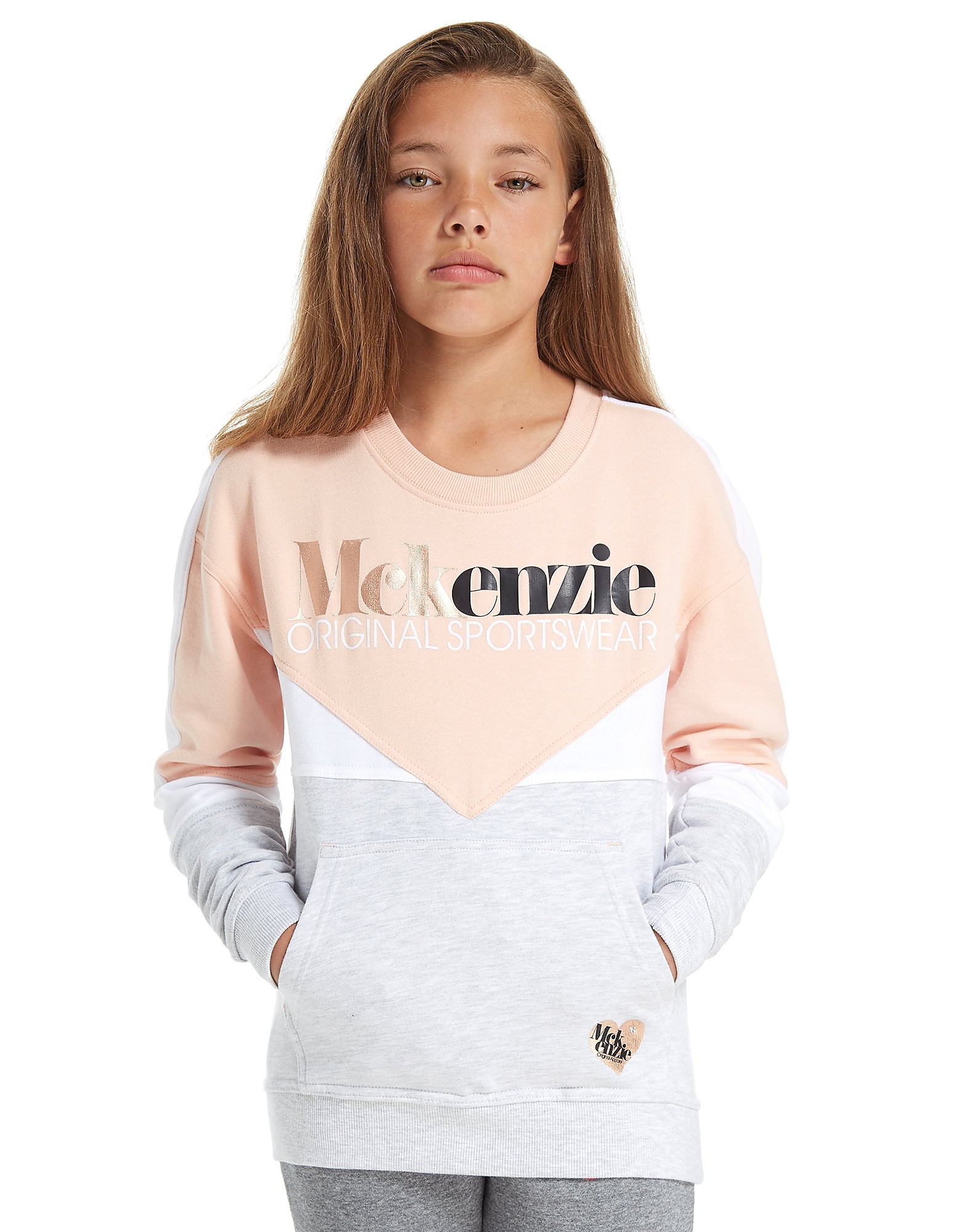 McKenzie Girls' Esme Crew Sweatshirt Junior