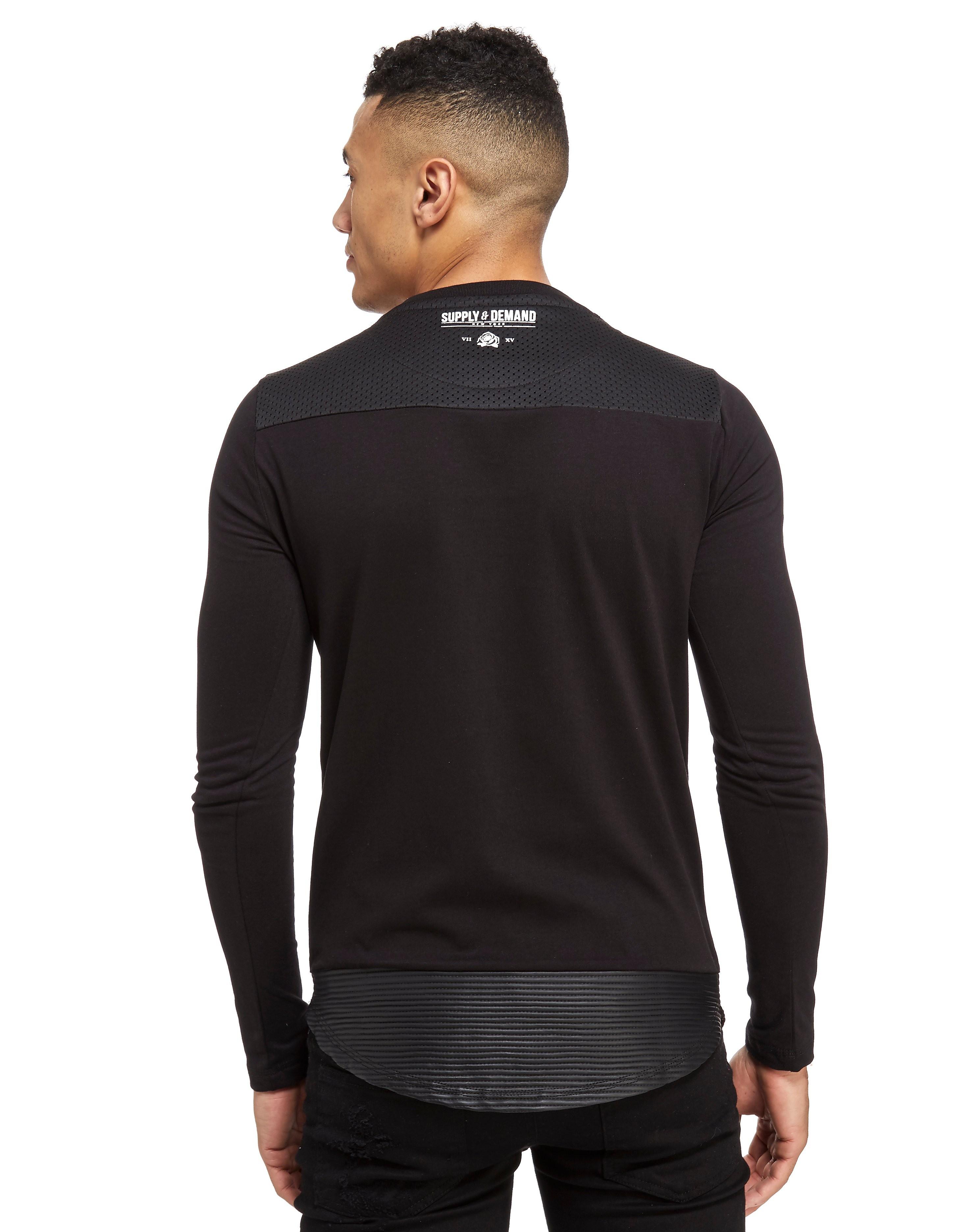 Supply & Demand Motor Long-Sleeved T-Shirt Heren