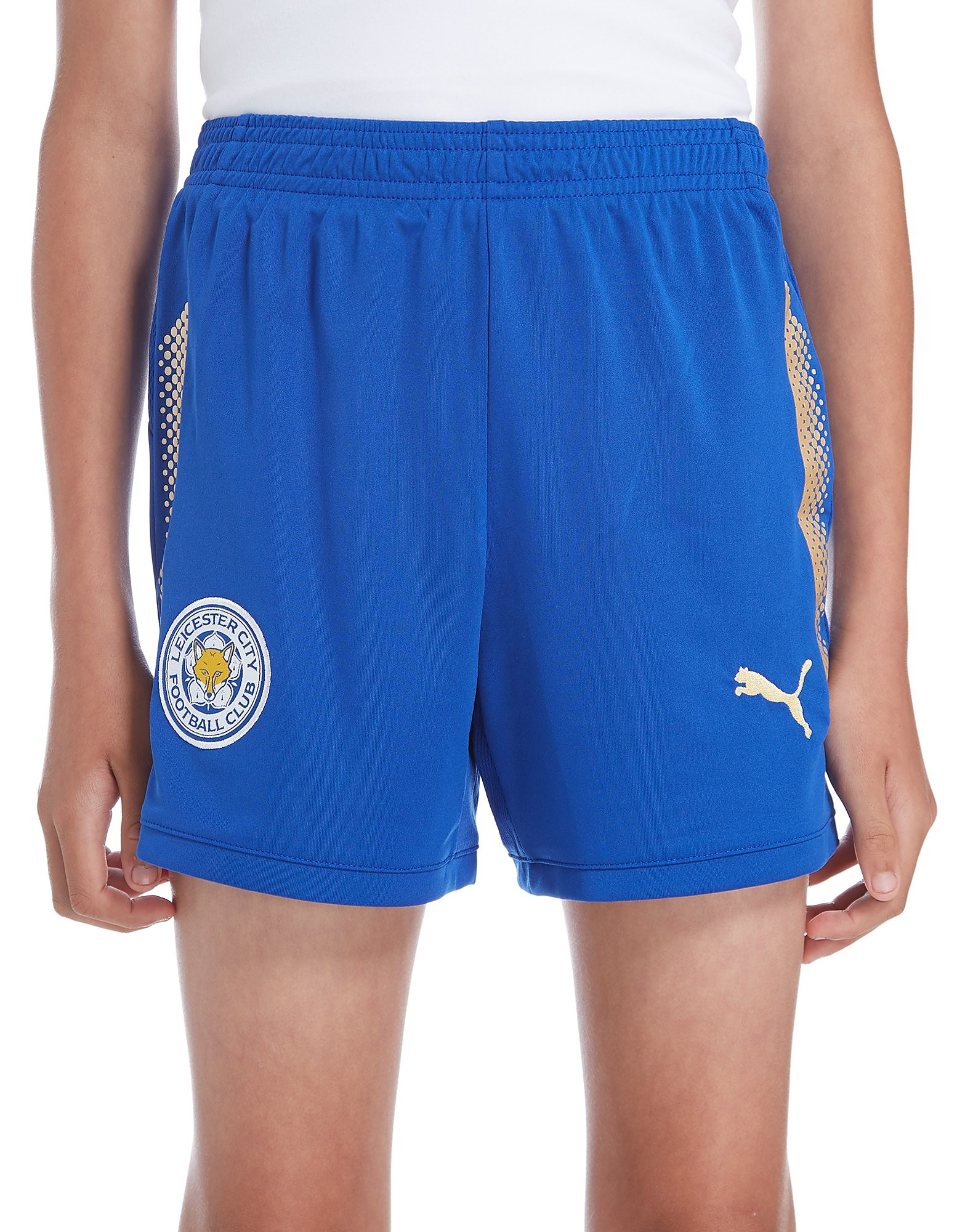 PUMA Leicester City FC 2017/18 Home Shorts Junior