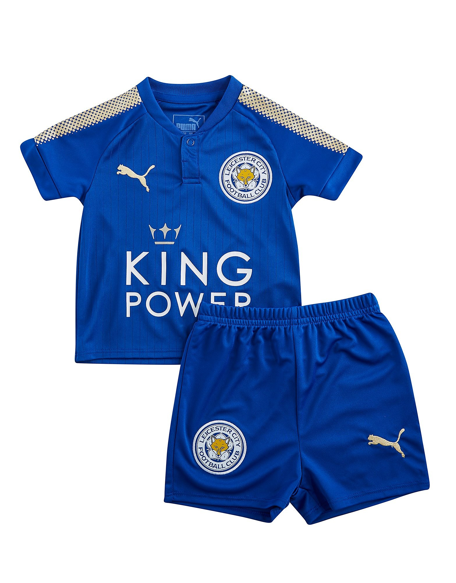 PUMA Leicester City FC 2017/18 Home Kit Children