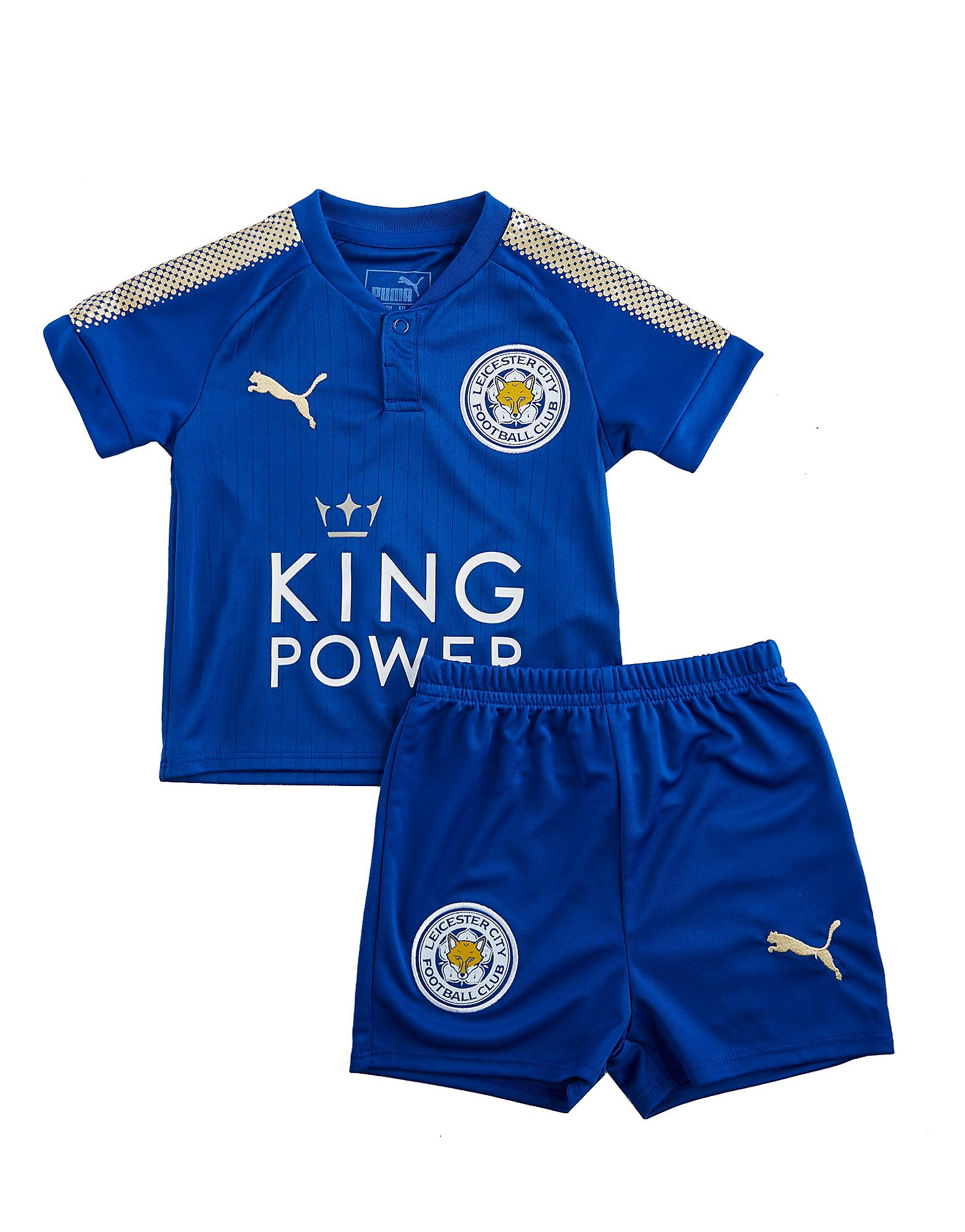 PUMA Leicester City FC 2017/18 Home Kit Infant