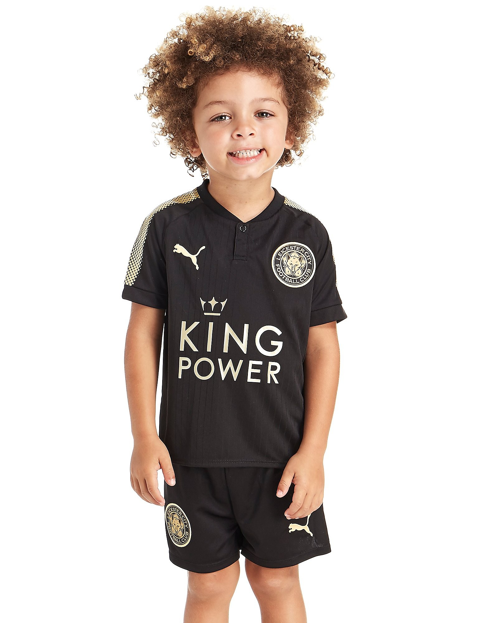 PUMA Leicester City 2017/18 Away Kit Children