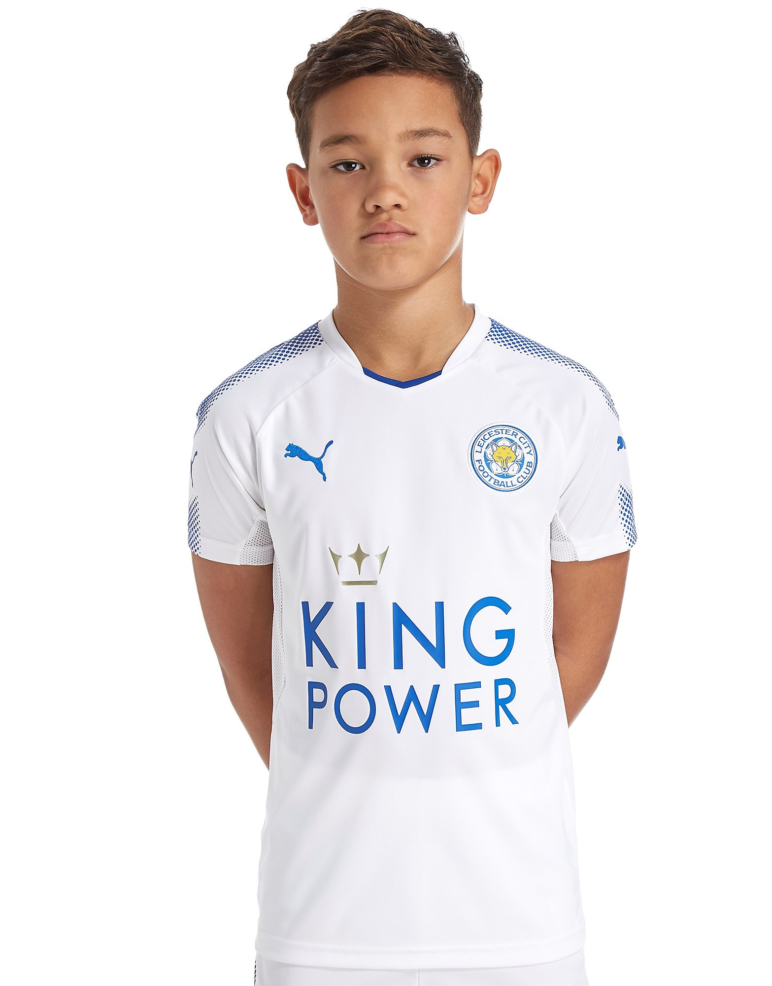 PUMA Leicester City FC 2017/18 Third Shirt Junior