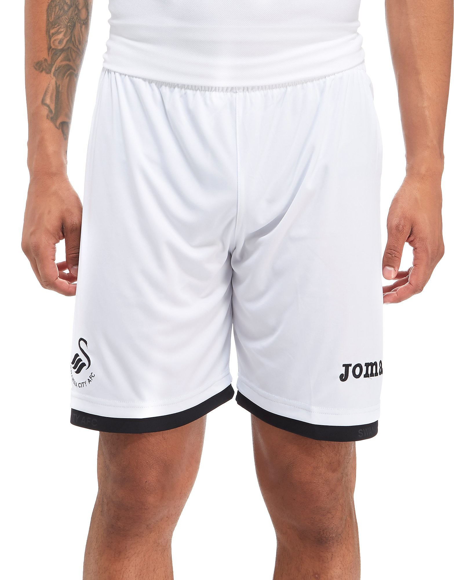 Joma Swansea City FC 2017/18 Home Shorts