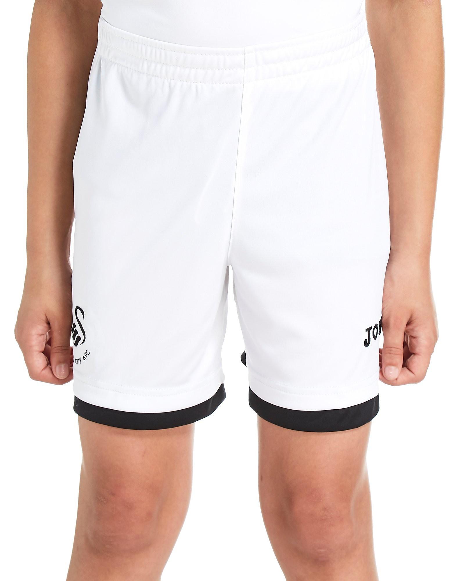 Joma Swansea City 2017/18 Home Shorts Junior