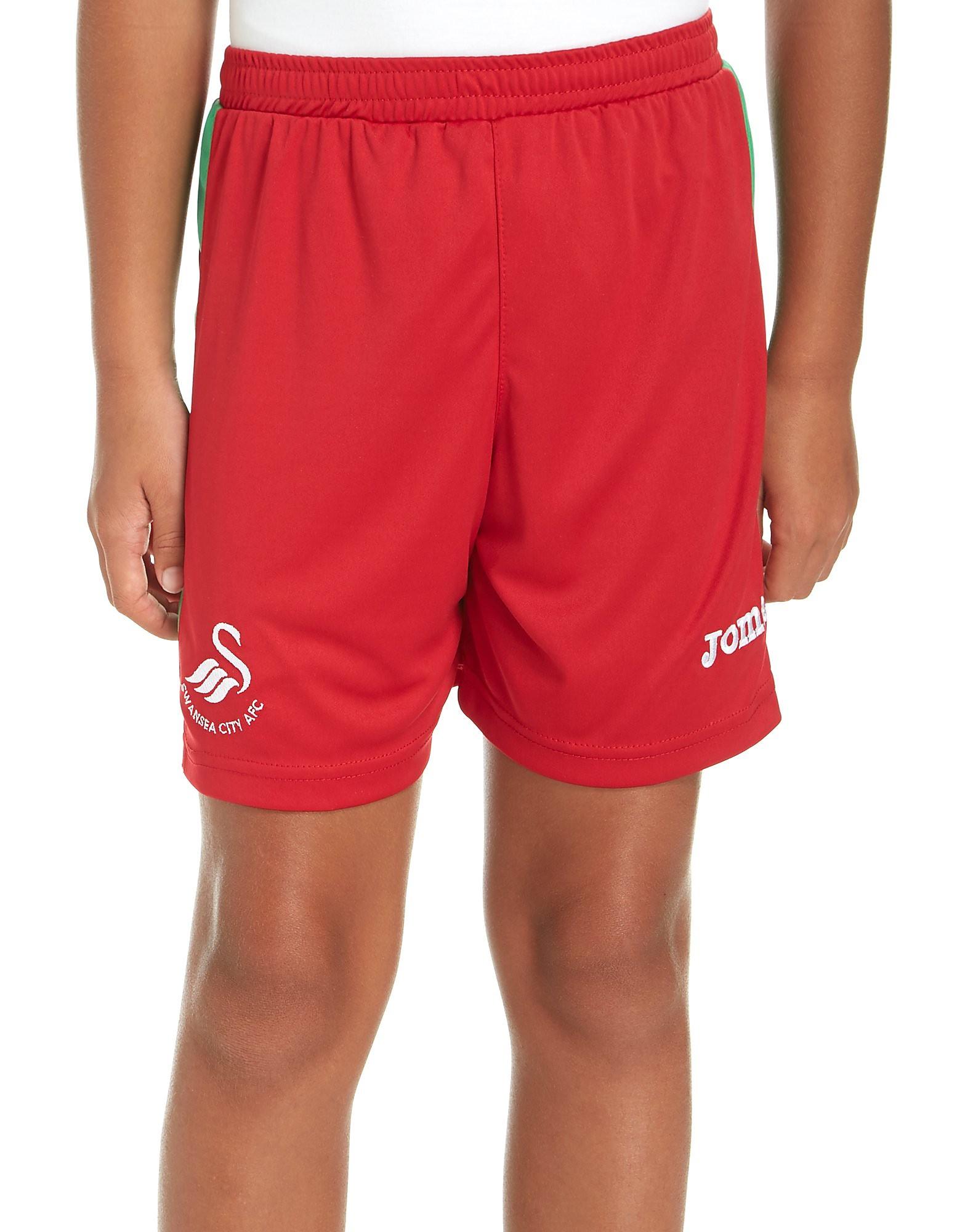 Joma Swansea City FC 2017/18 Away Shorts Junior