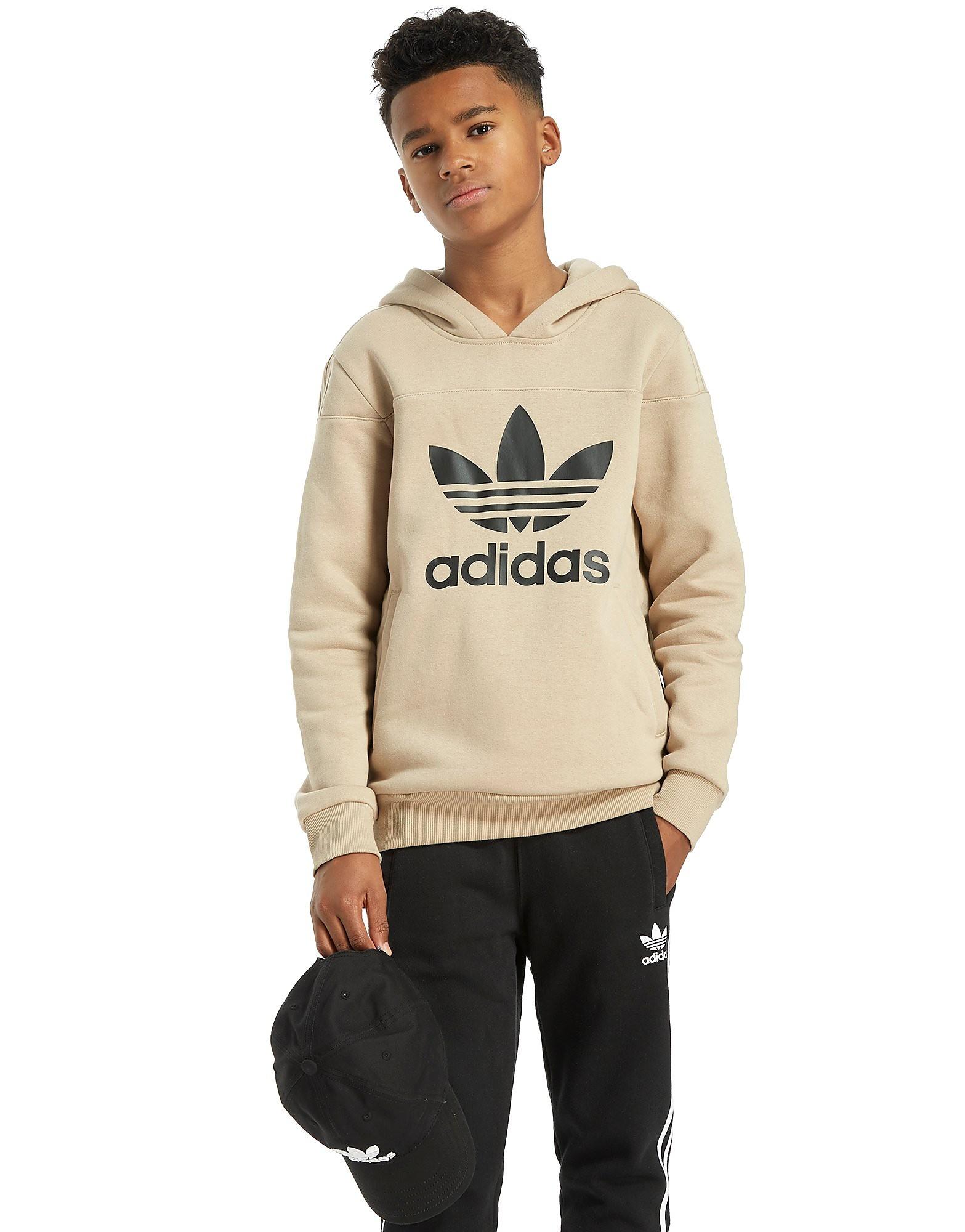 adidas Originals Trefoil Überkopf Kapuzenpullover Junior