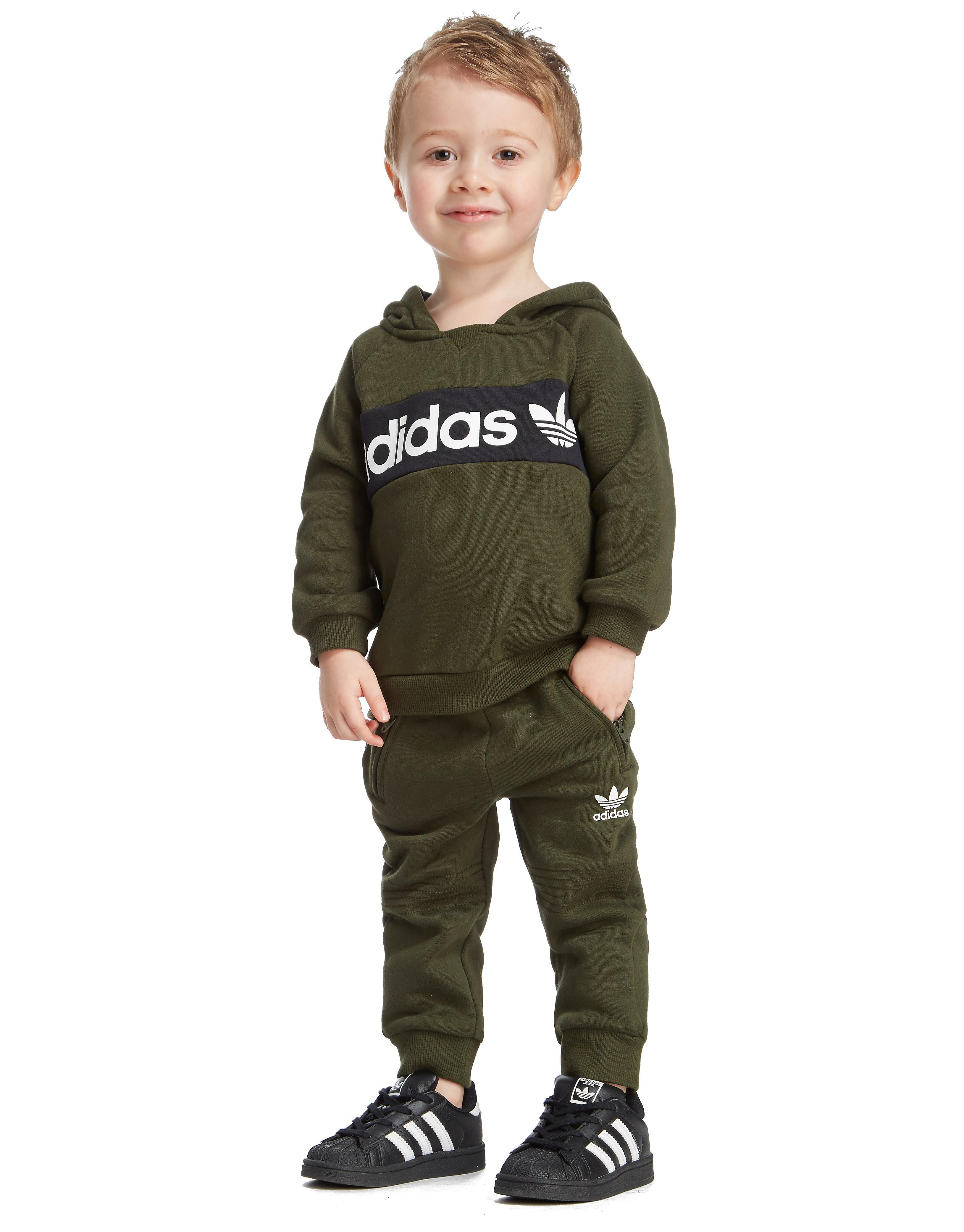 adidas Originals Logo Overhead Hoodie Infant