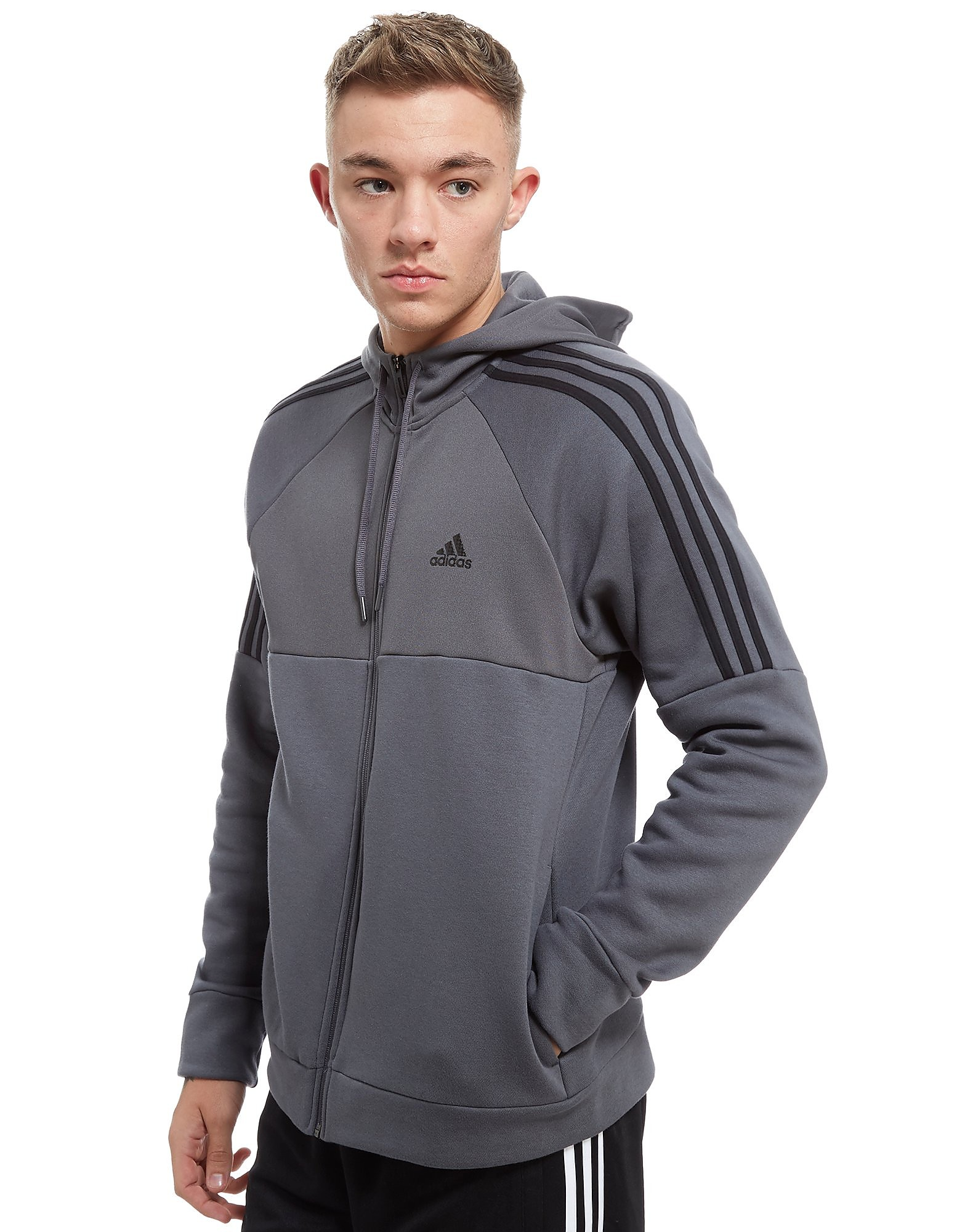 adidas Linear Fab Mix Hoody