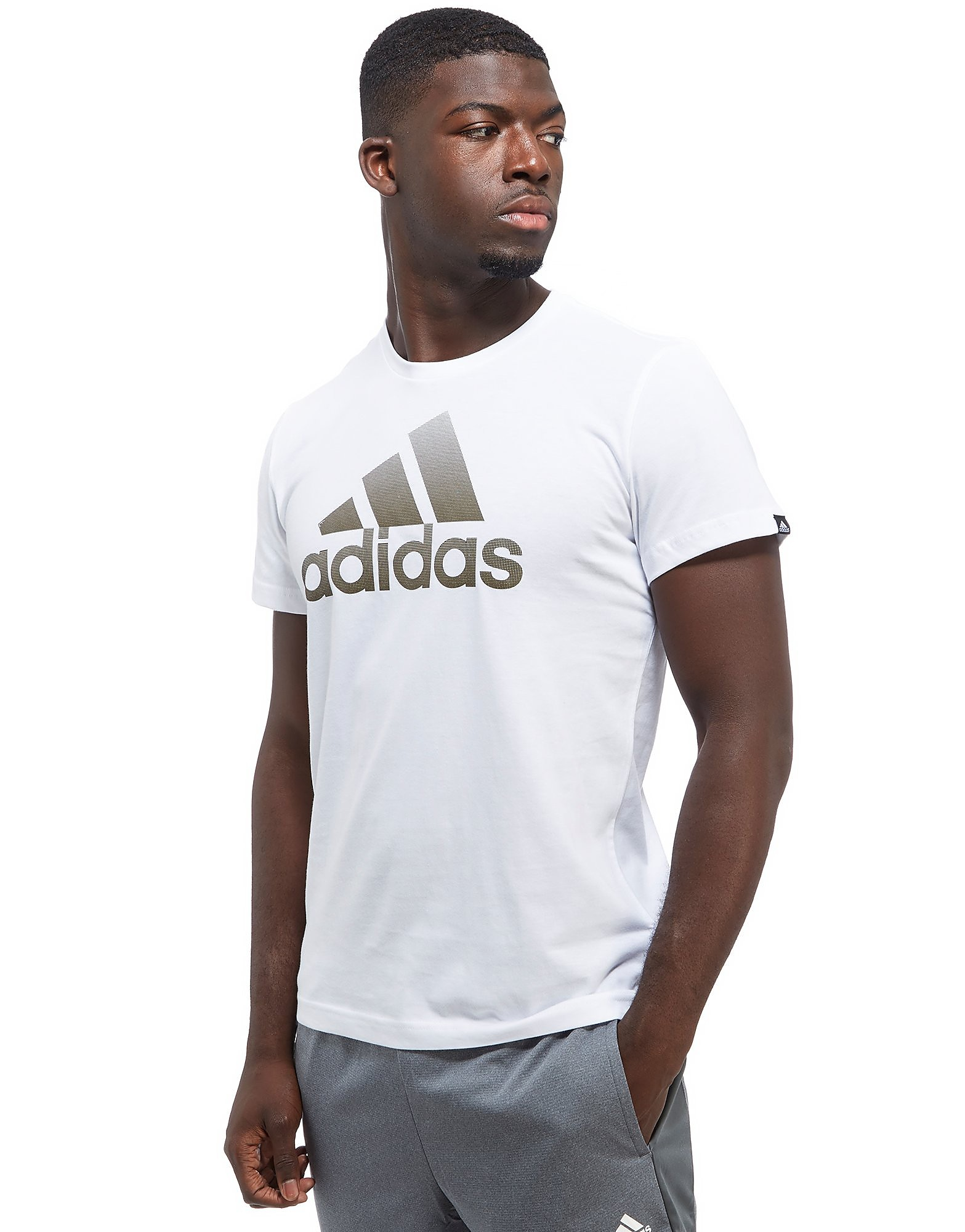 adidas Perforated Fade T-Shirt Heren