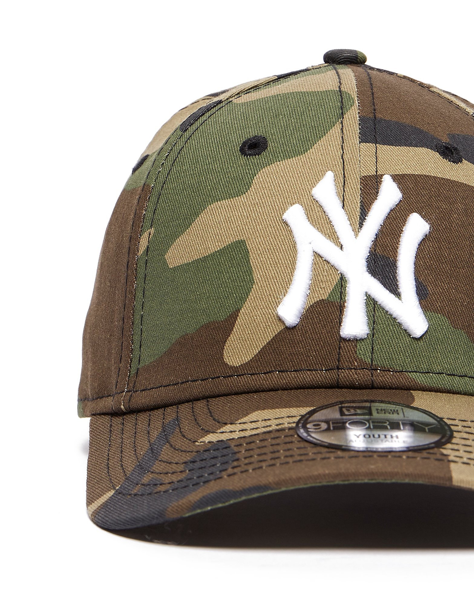 New Era 9Forty New York Yankees Camo Cap Junior