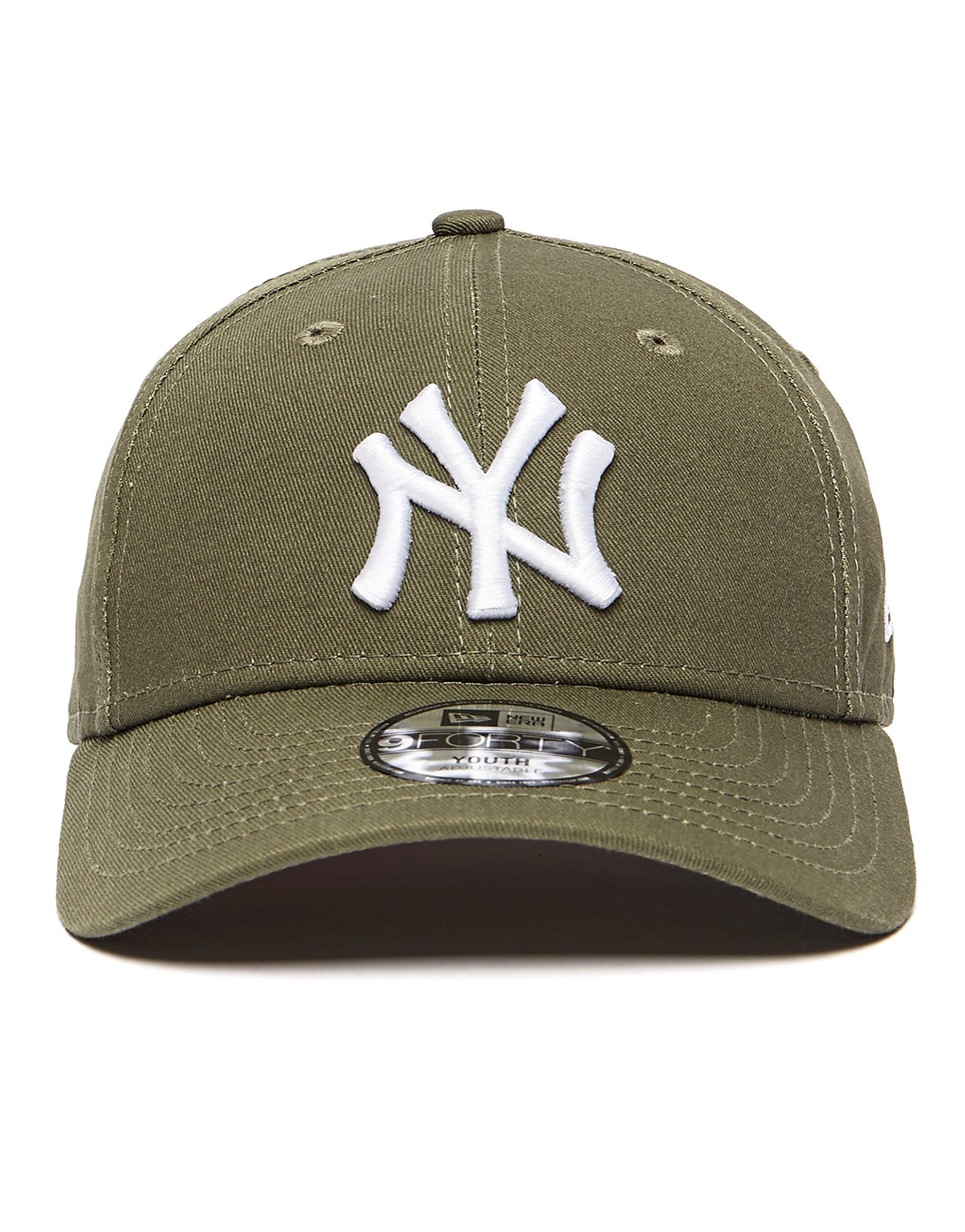 New Era 9Forty New York Yankees Kappe Junior Olive
