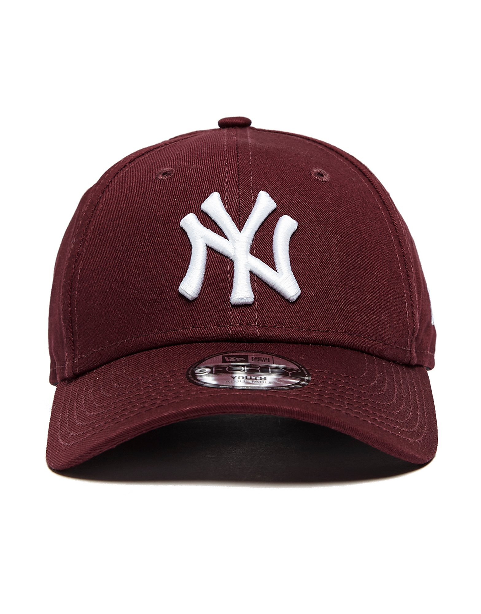 New Era 9Forty New York Yankees Kappe Burgundy Junior