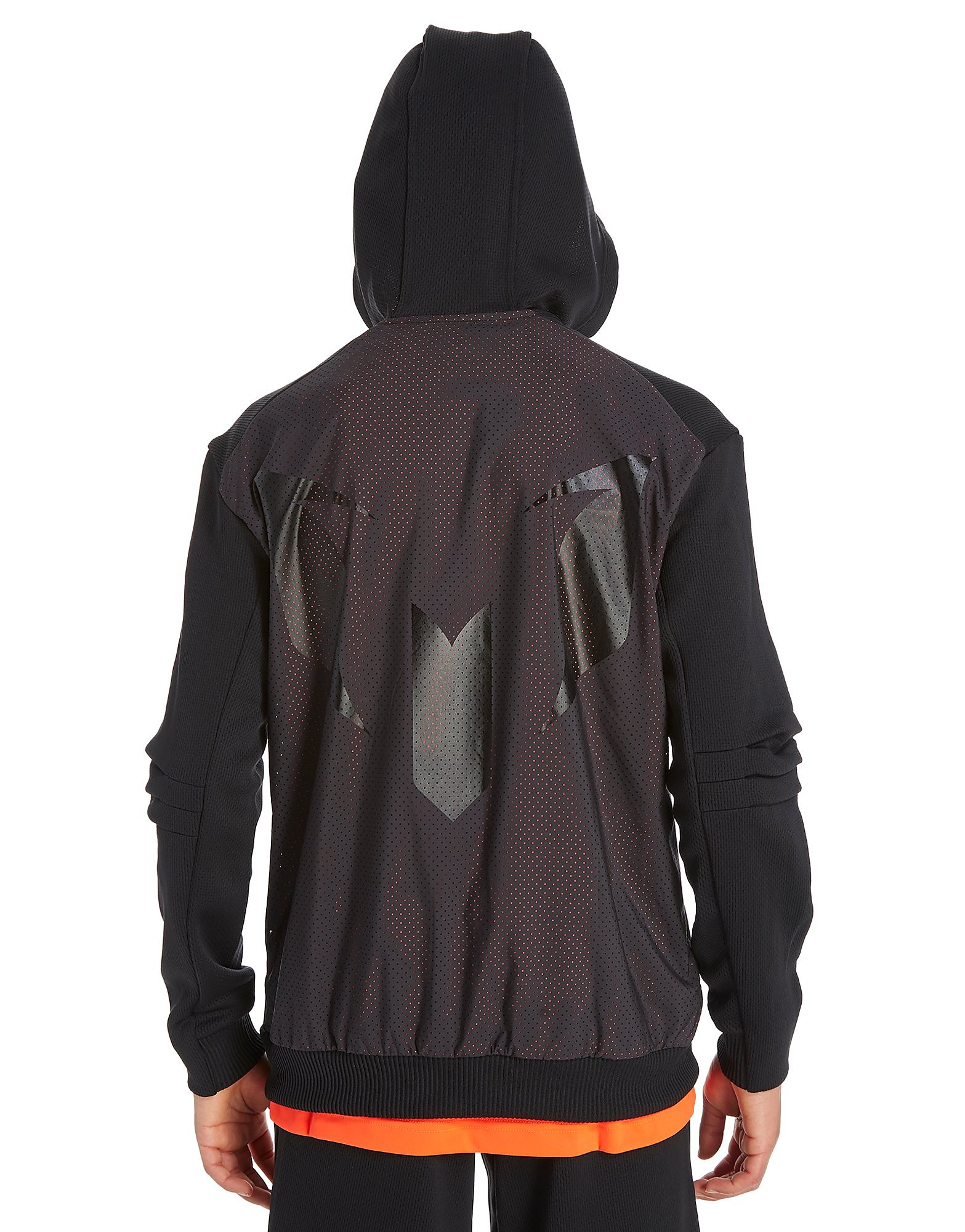 adidas Messi Full Zip Felpa con Cappuccio Junior