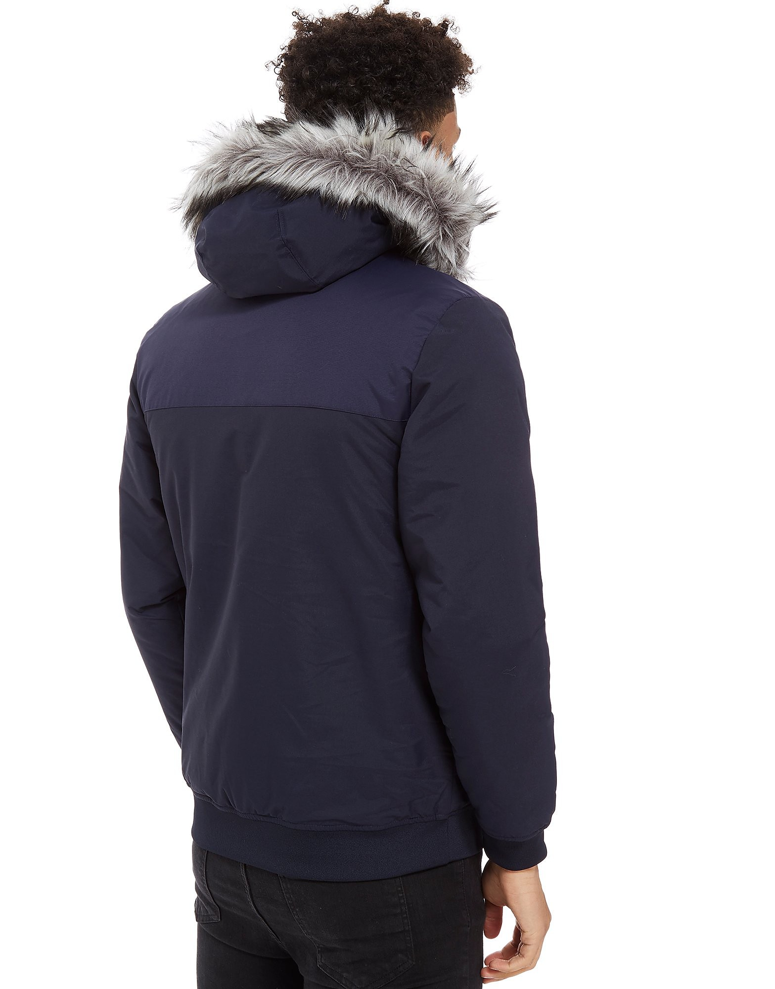 adidas Originals Trefoil Fur Padded Parka