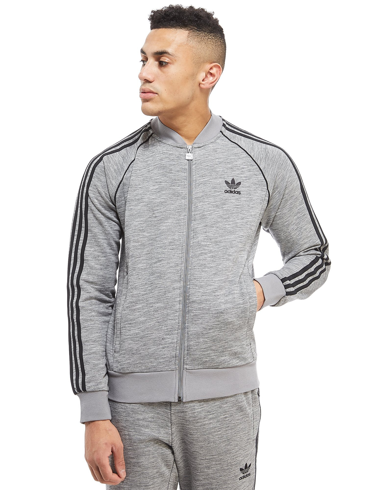 adidas Originals chaqueta de chándal Superstar Knit
