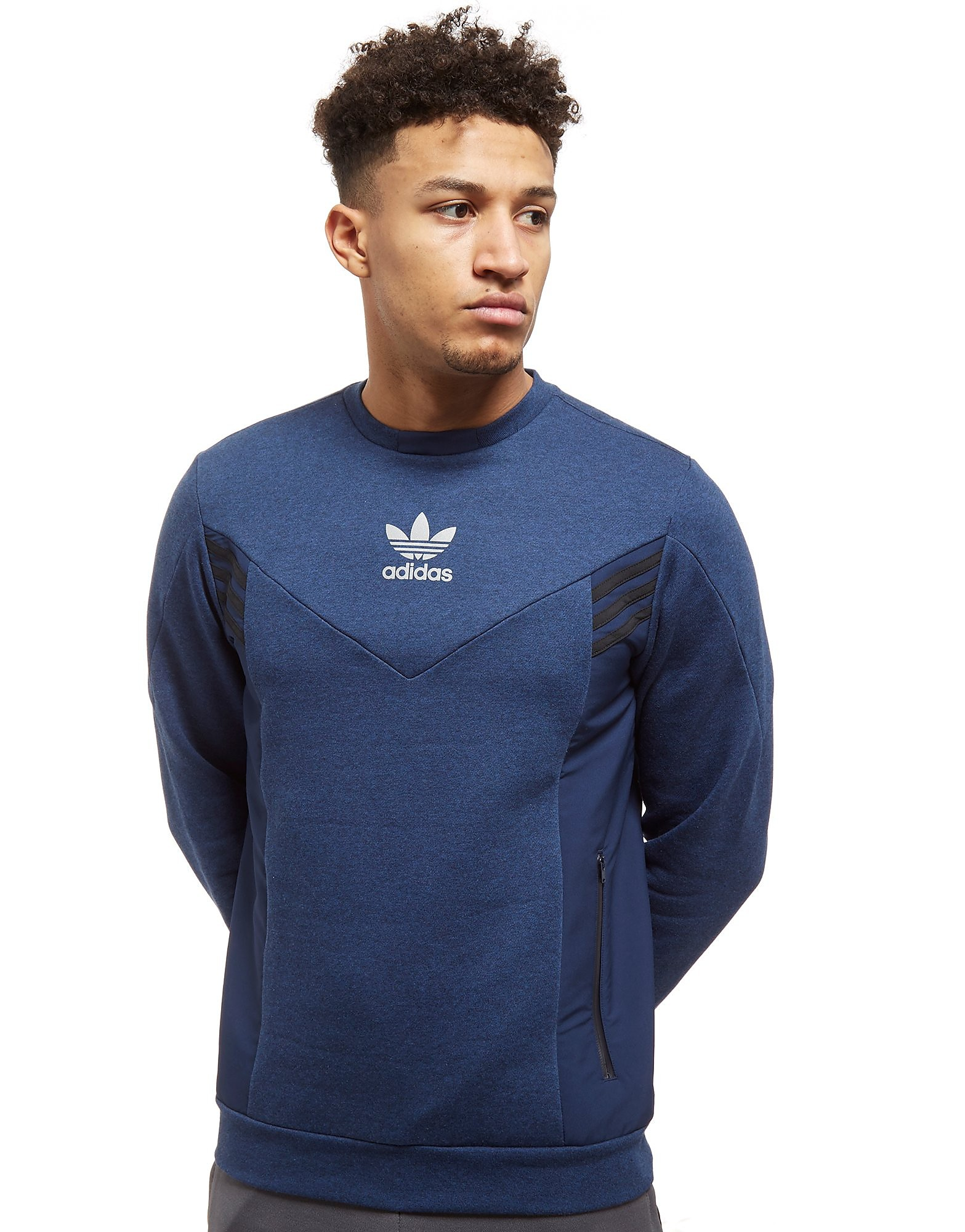 adidas Originals Street Run Crew Sweatshirt Heren