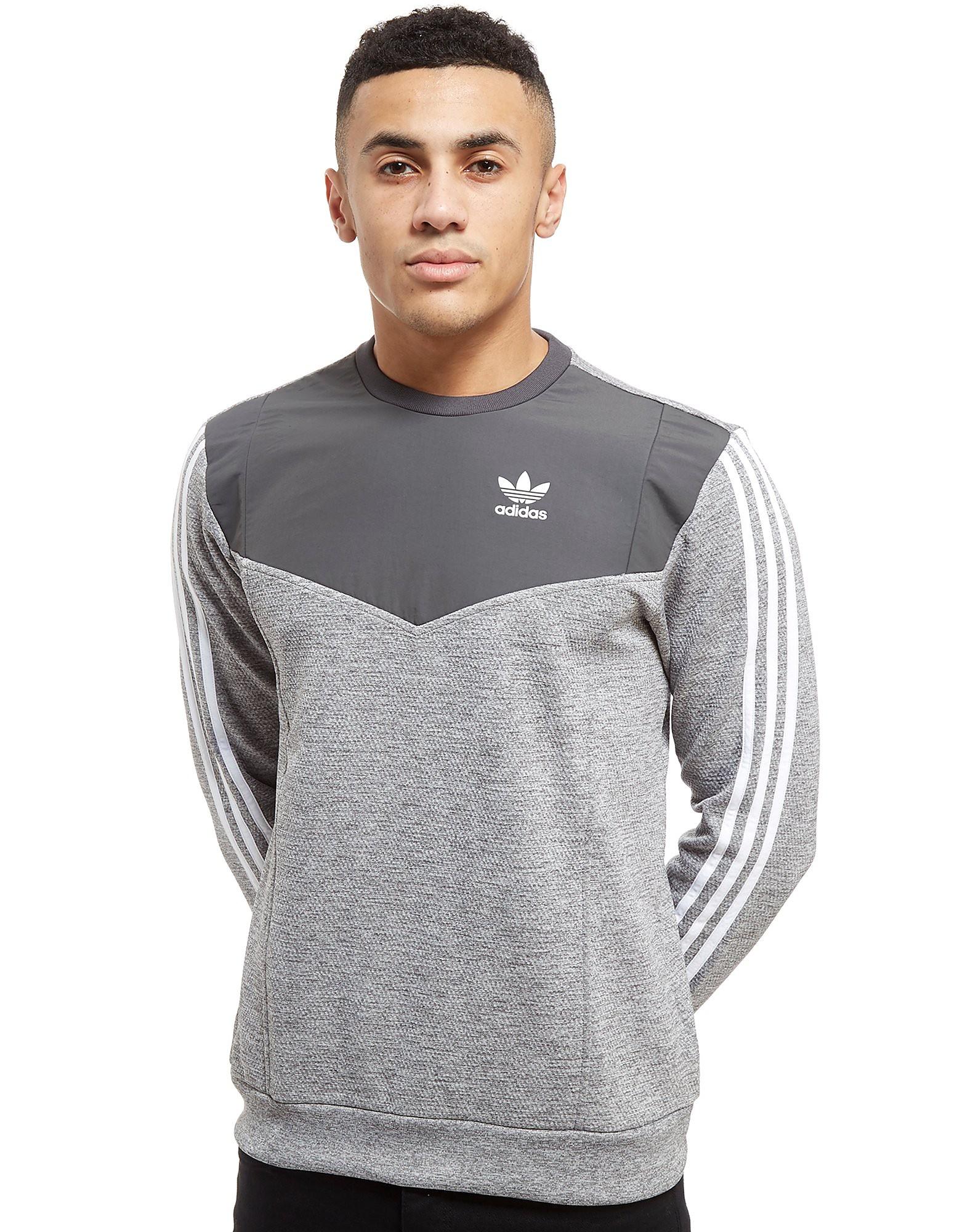 adidas Originals Nova Woven Crew Sweatshirt - Only at JD - gris, gris