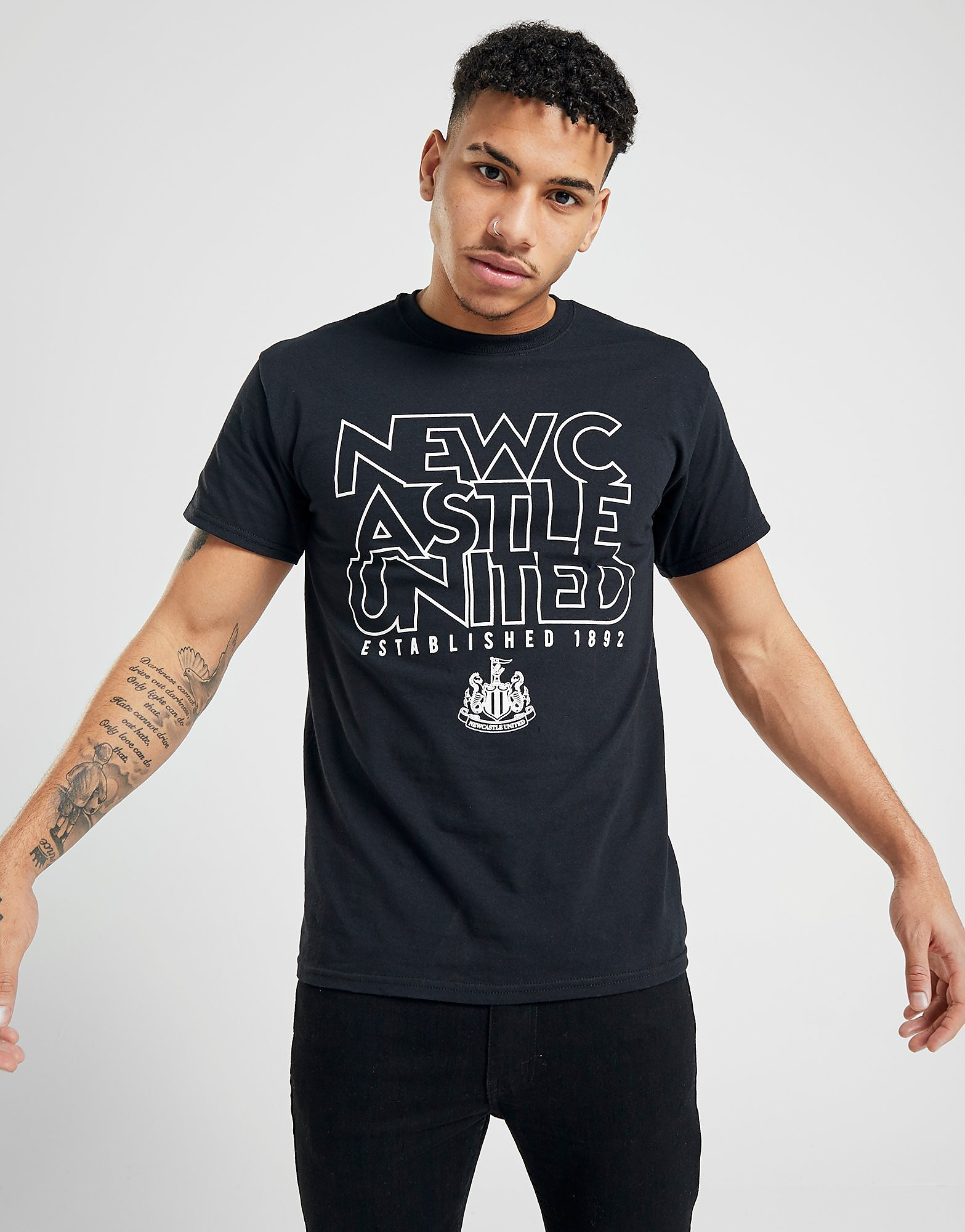 Official Team Newcastle United EST 1892 T-Shirt