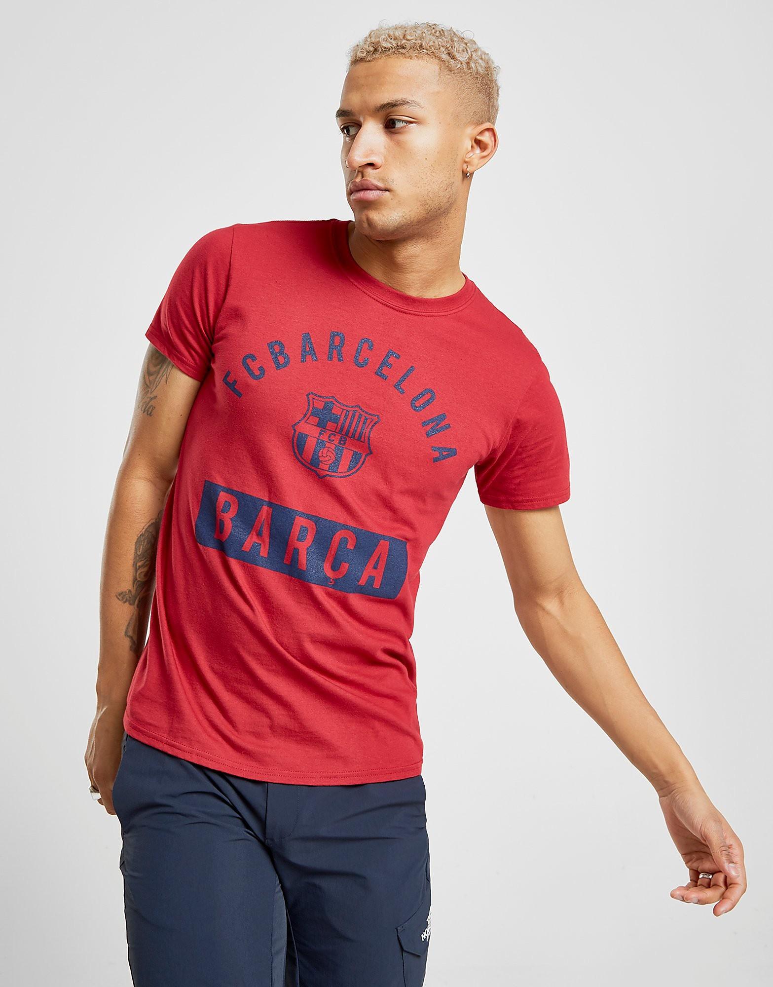 Official Team FC Barcelona Camp Nou T-Shirt Heren
