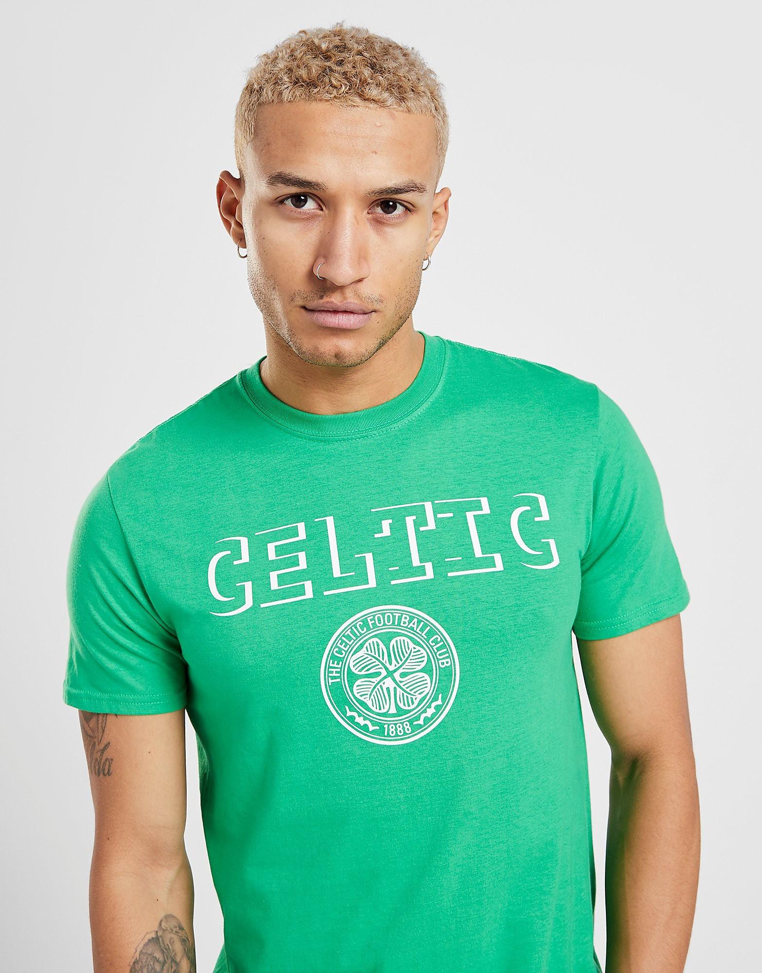 Official Team Celtic Badge Shirt Heren - Groen - Heren